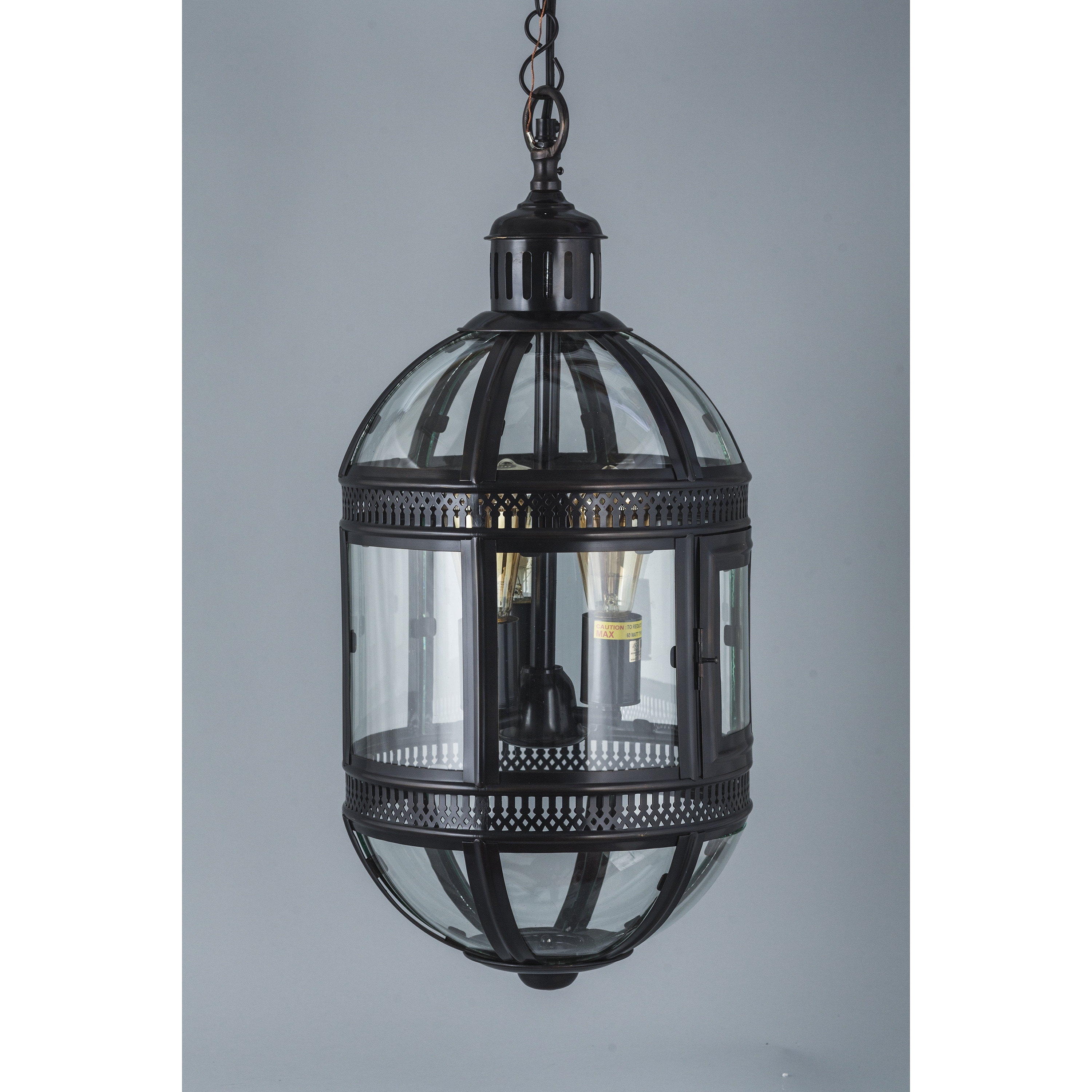 Madrid Bronze Capsule Hanging Lamp - Free Shipping Today - Overstock ...