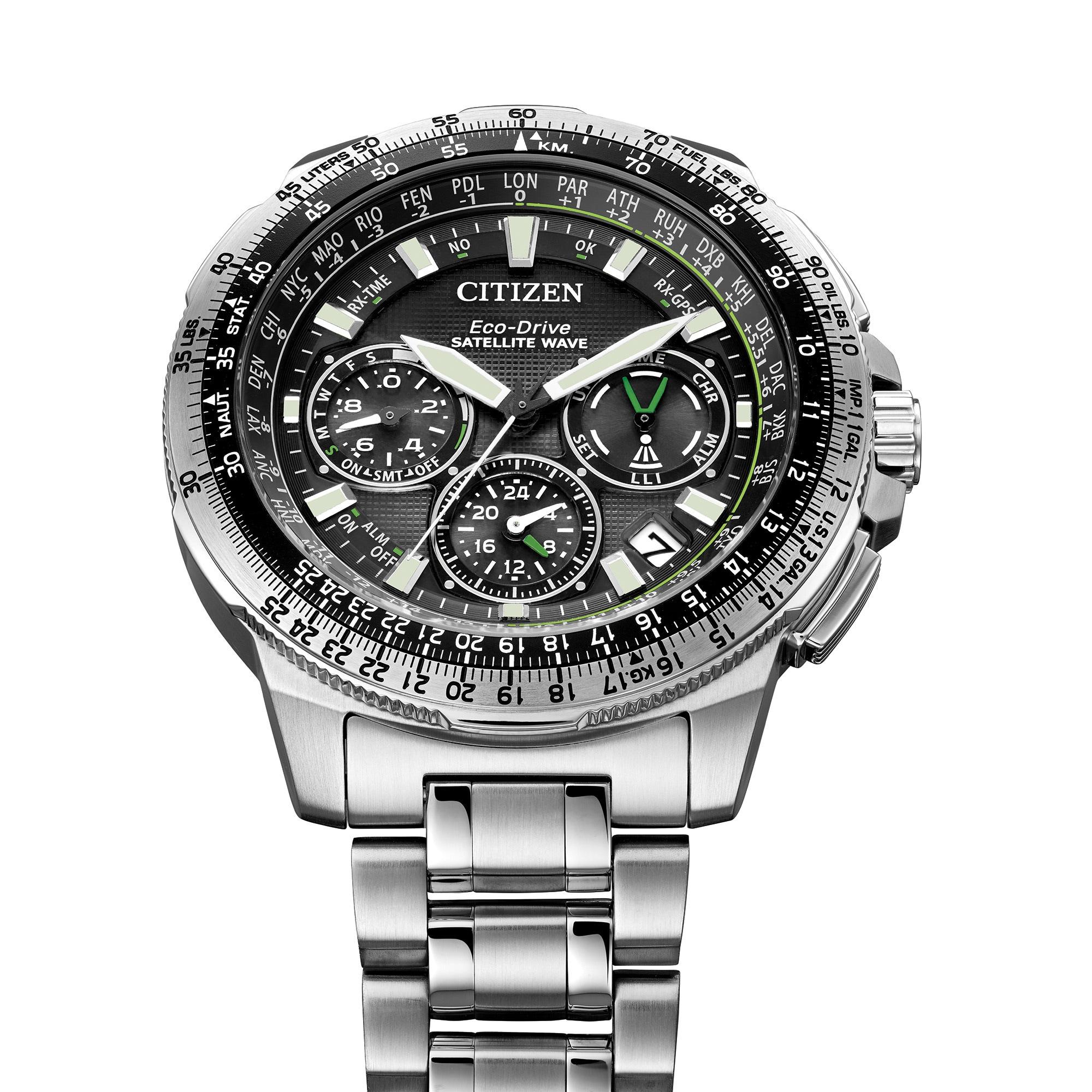 2bba3599e0b Shop Citizen Men s CC9030-51E Promaster Navihawk GPS Stainless Steel Watch  - Free Shipping Today - Overstock - 11551674
