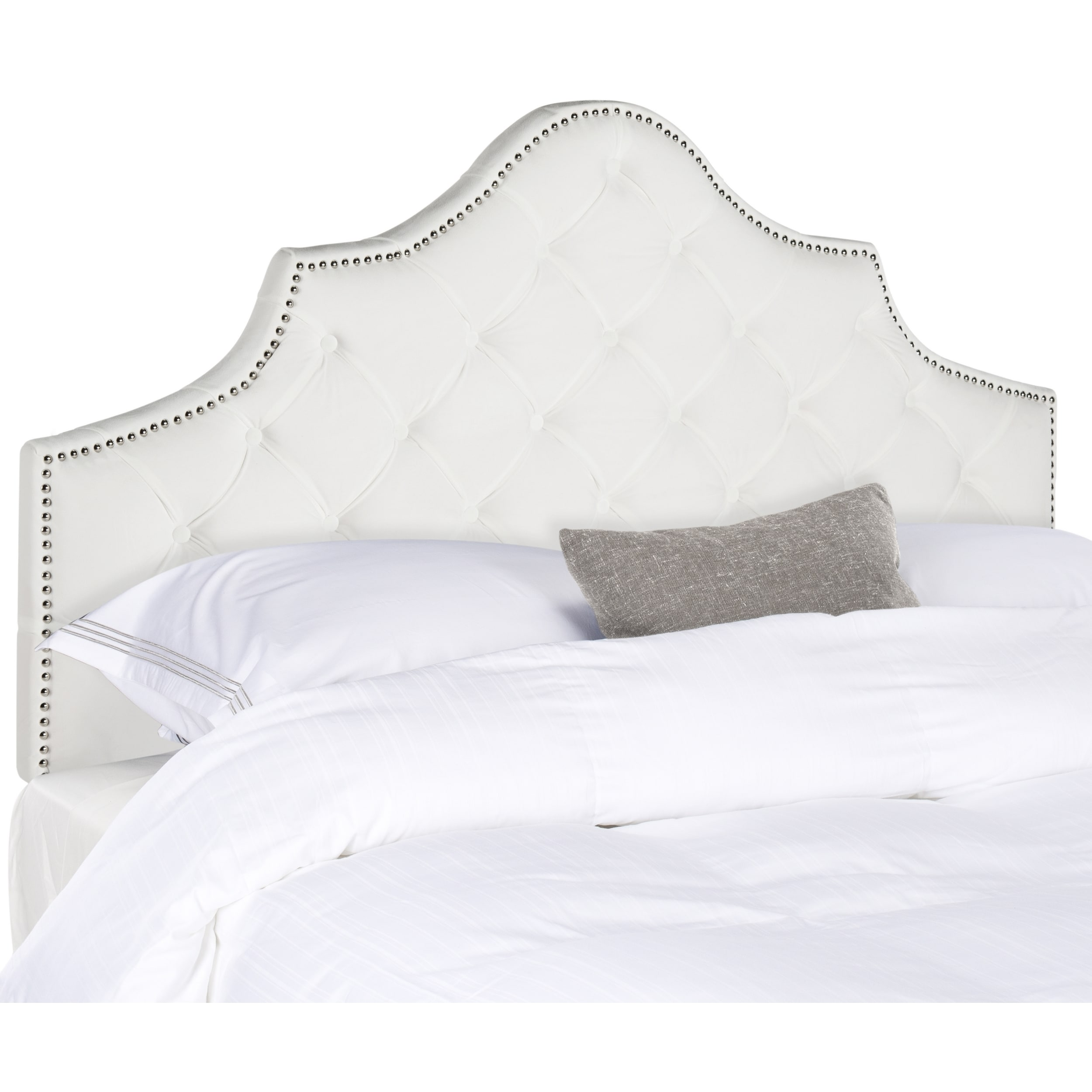 how kelley super calming size make a to upholstered neutral with headboard tall headboards bedroom com and nan tufted white update master senalka king