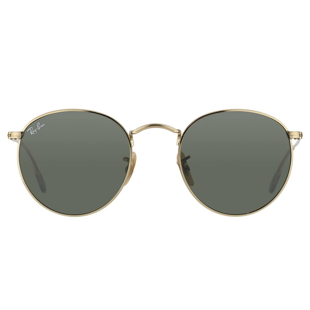 a927dd652d Shop Ray-Ban Round Metal RB 3447 001 Arista Gold Round Metal Sunglasses -  50mm - Free Shipping Today - Overstock - 11583109