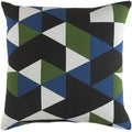Decorative 18-inch Creek Down or Polyester Filled Throw Pillow
