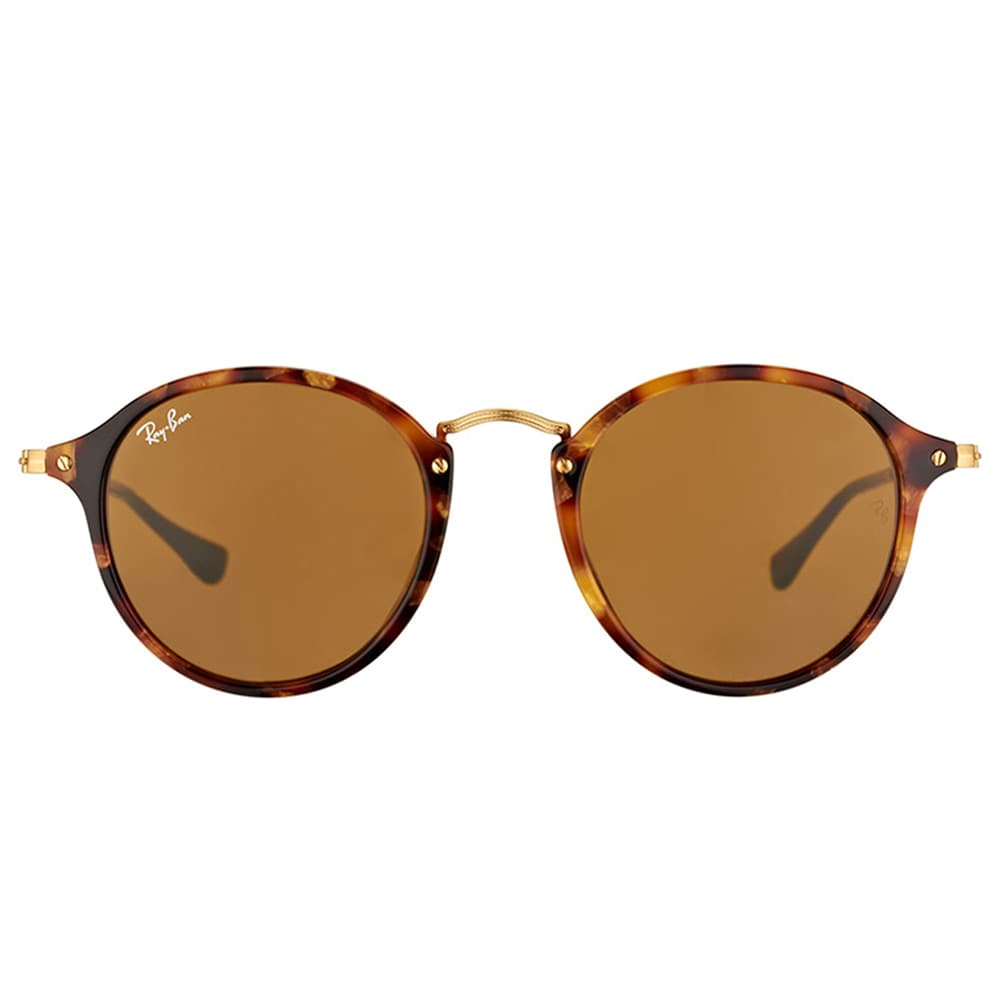 Rb2447 Round/classic 1160 Spotted Brown Havana Brown 49/21 145 emcPG9