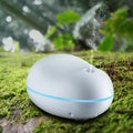USB Portable 80mm Mini Essential Oil Diffuser and Cool Mist Aroma Humidifier