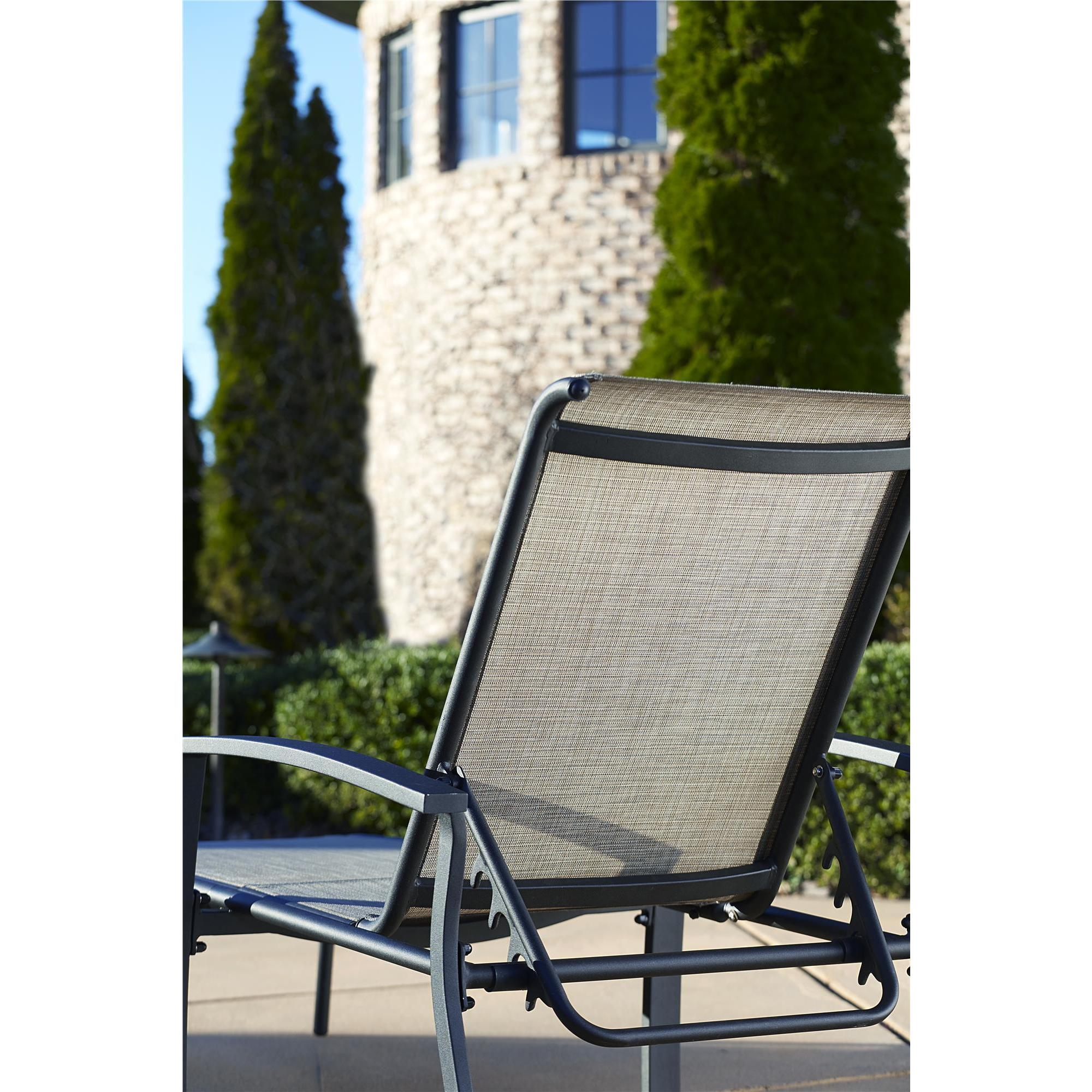 Shop Cosco Outdoor Aluminum Chaise Lounge Chair (Set Of 2)   Free Shipping  Today   Overstock.com   11586683