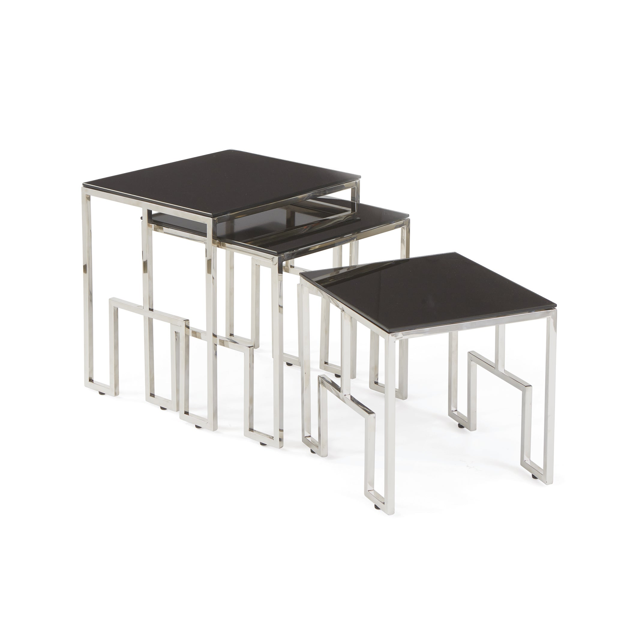 Shop black glass nesting tables free shipping today overstock shop black glass nesting tables free shipping today overstock 11589456 watchthetrailerfo