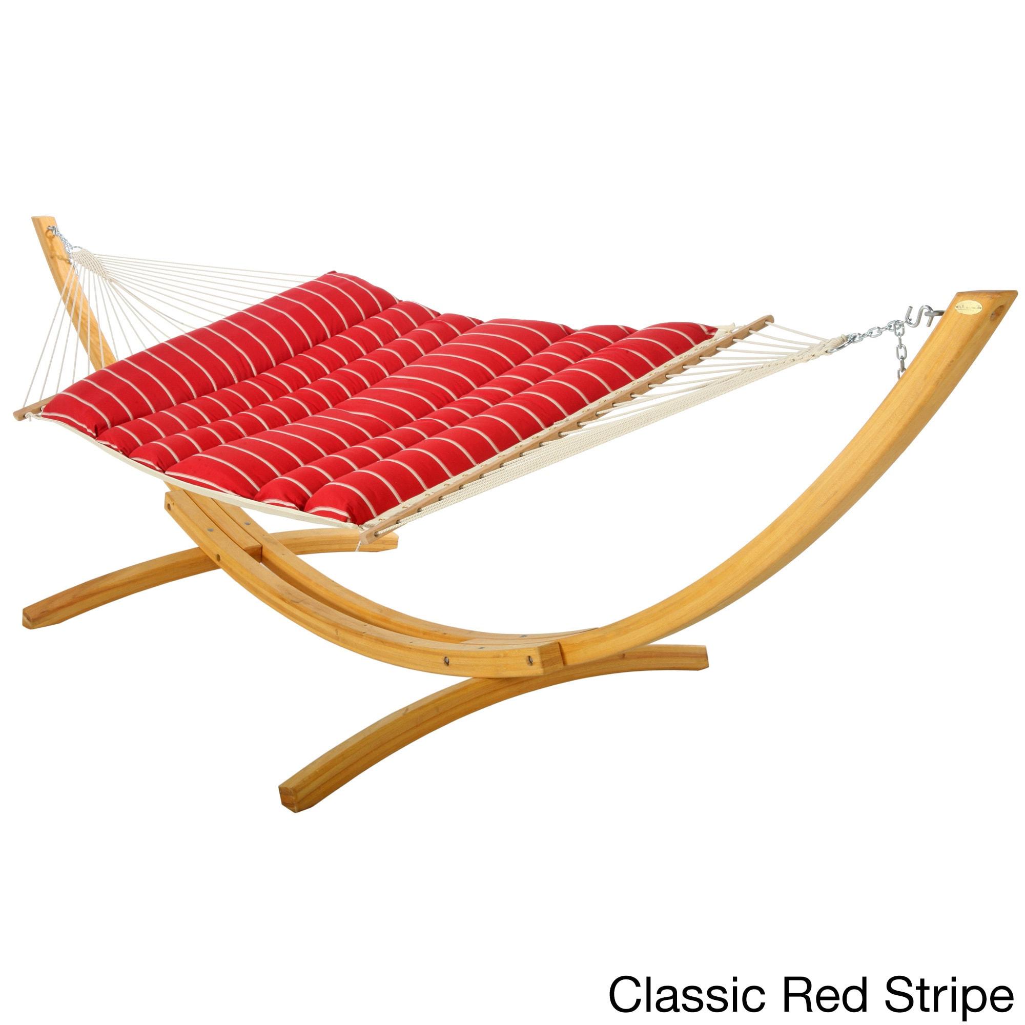 classic hammock dfohome hammocks black xx quilted pillowtop sunbrella cabana hatteras