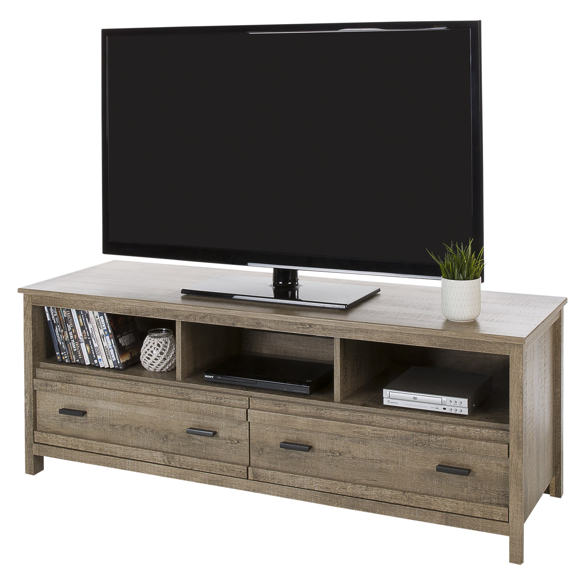 Shop South Shore Exhibit Tv Stand For Tvs Up To 60 Free Shipping