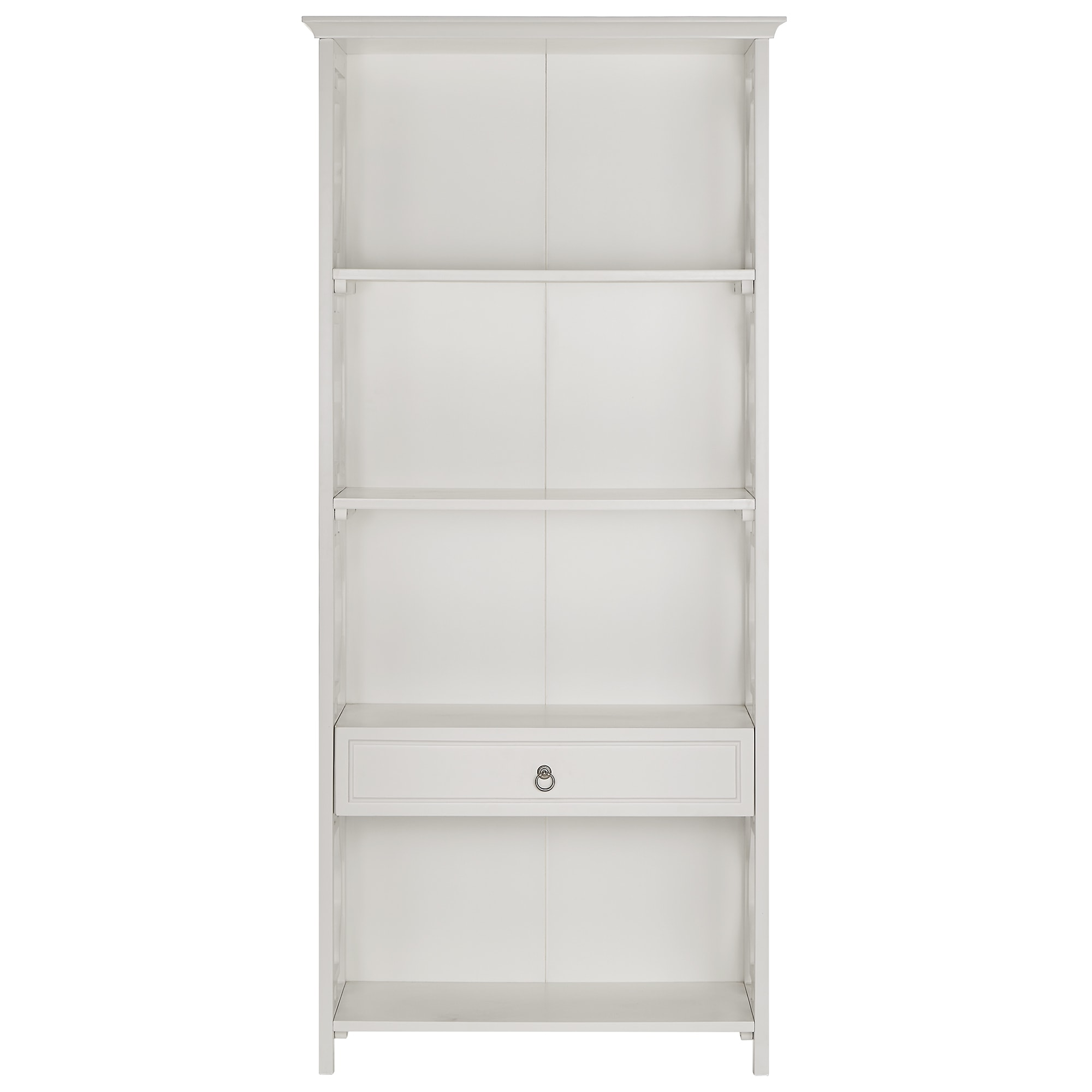 wooden white of bookshelves doors your idea keep drawers four lovely to books and furniture with some glass bookshelf