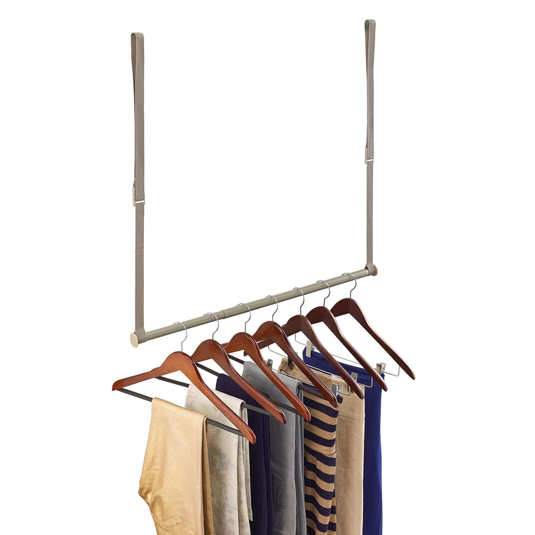 Shop Closetmaid Nickel Double Hang Closet Rod Overstock 11591341