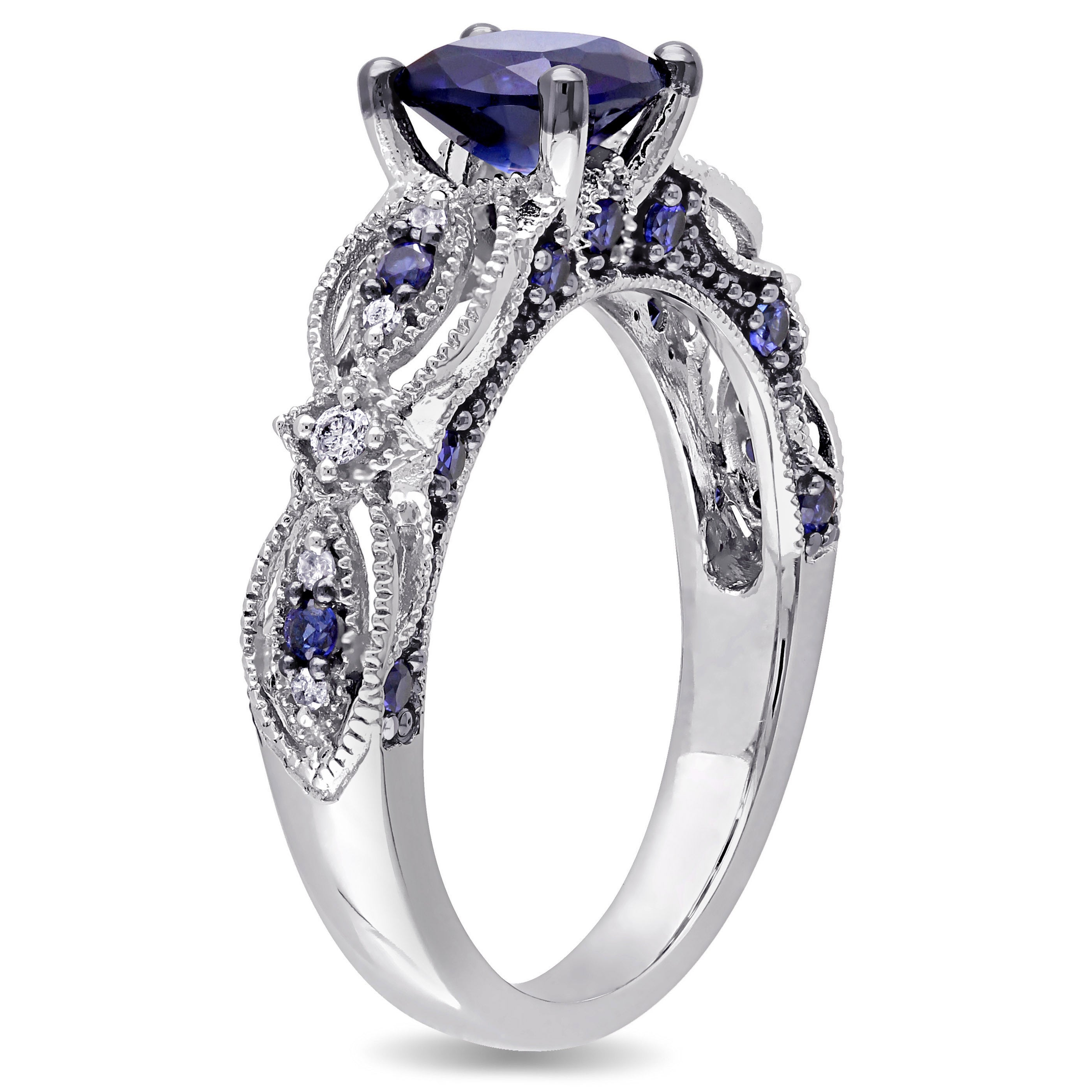 product nr adr shiny delicate ring home engagement all gold rings nature sapphire blue