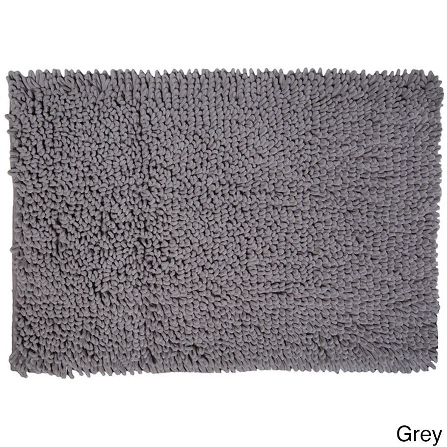Ultra Soft Microfiber Chenille Noodle Bath Rug Free Shipping On