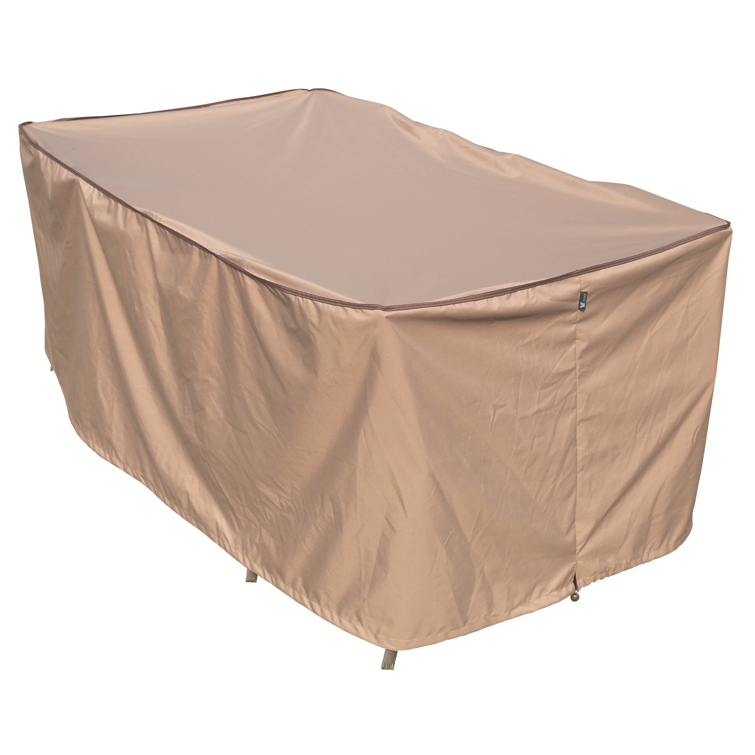 Attirant Shop TrueShade Plus Large Rectangular Table And Chair Set Cover   Free  Shipping Today   Overstock.com   11595278