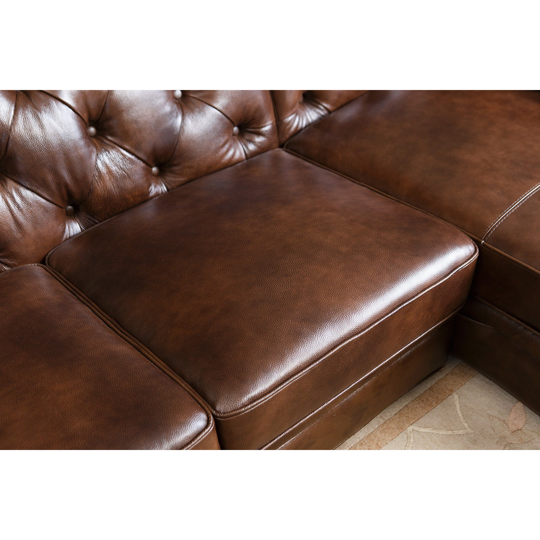 leather scandis med campsis sectional right anthracite products chaise