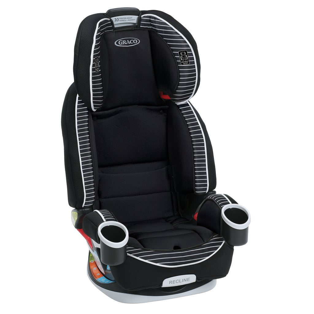 Graco Studio 4Ever Black/White All-in-One Car Seat - Free Shipping ...