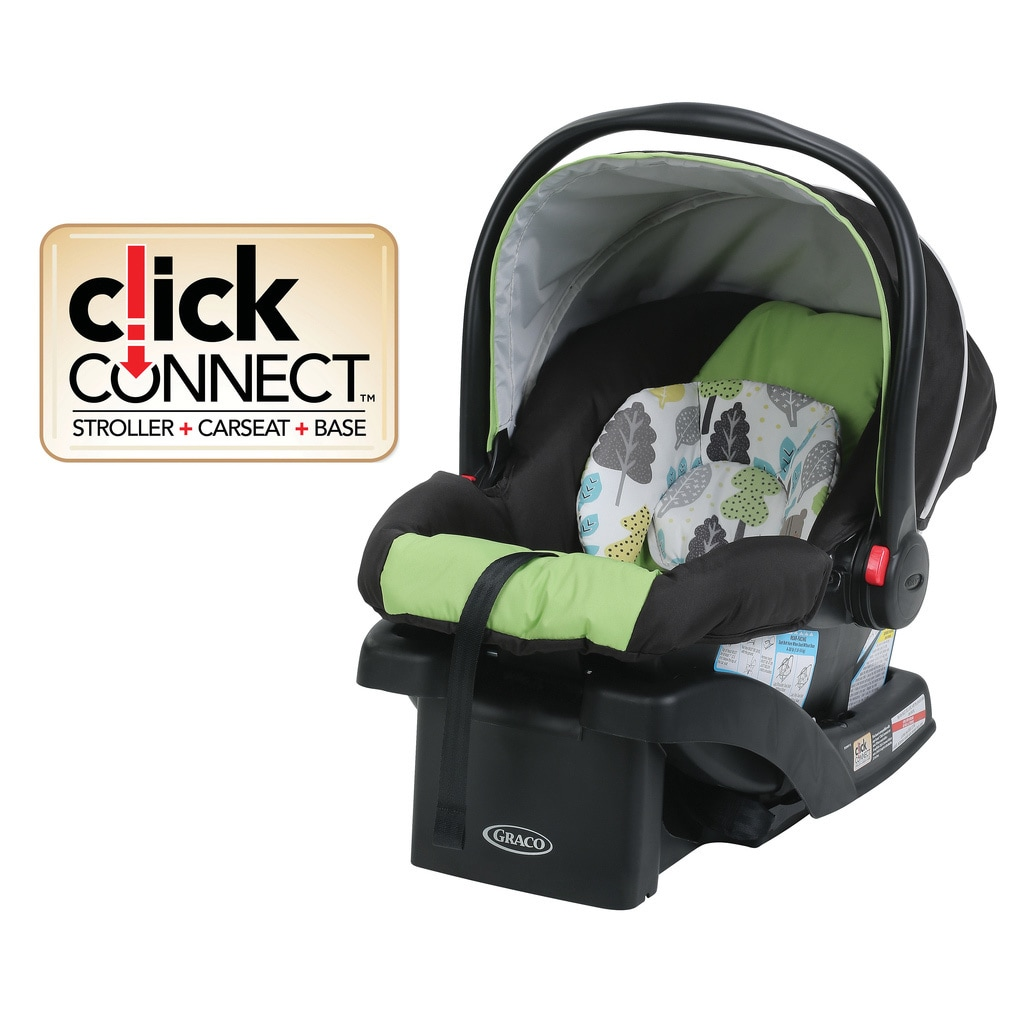 Shop Graco SnugRide 30 Click Connect Infant Car Seat With Front Adjust In Bear Trail
