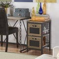 Holtom Wire Basket Storage Tower Organizer Chest