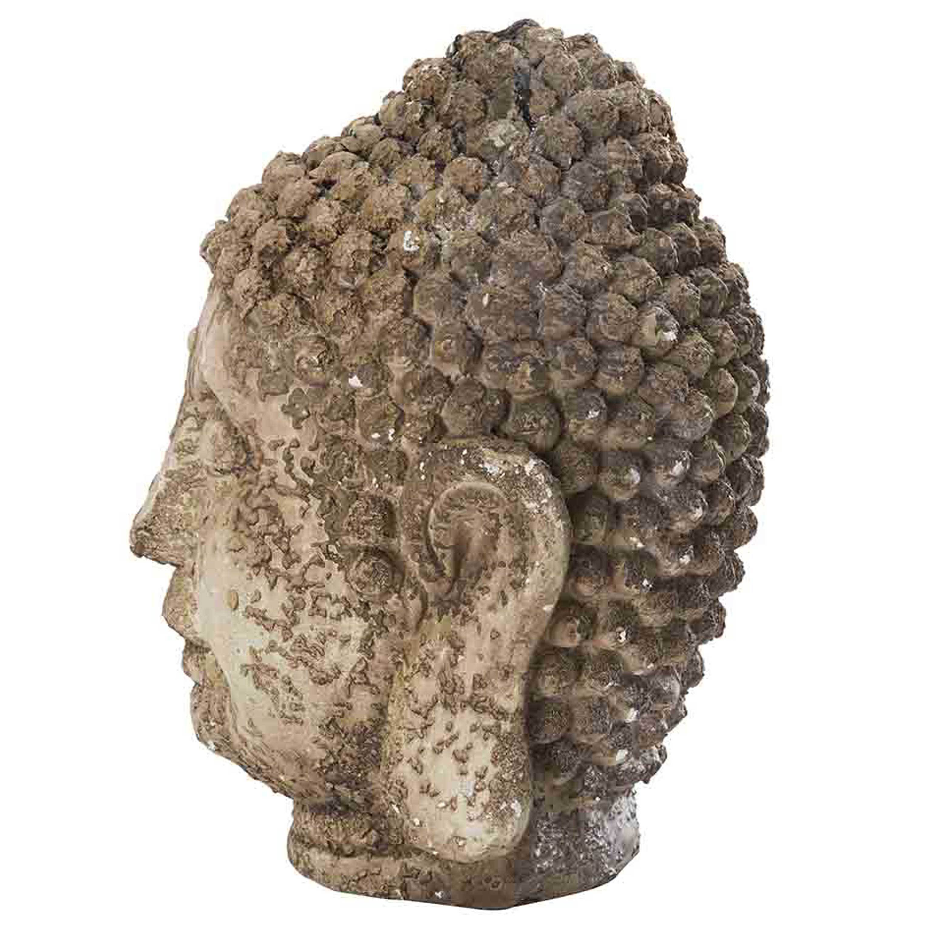 Shop Sunjoy Rustic Garden Buda Statue, 17 Inch, Resin   Free Shipping Today    Overstock.com   11599194