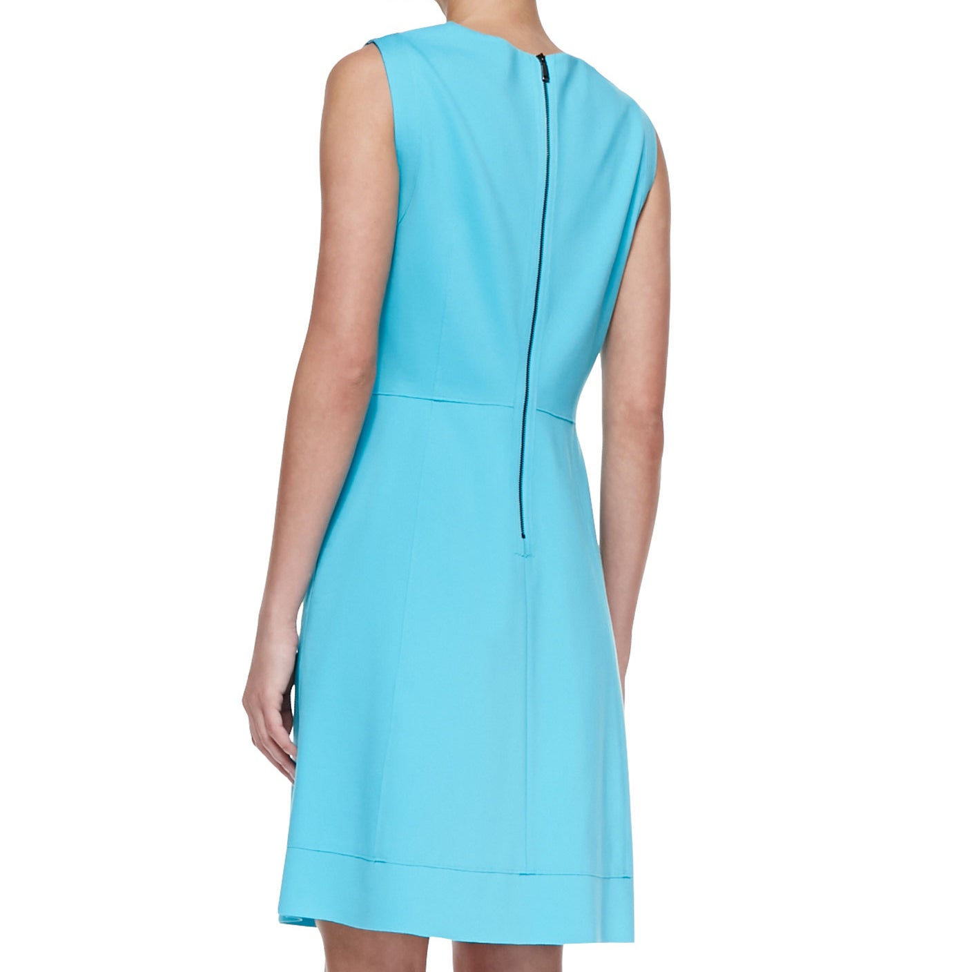 6be15b297b0449 Shop Elie Tahari Callie Ocean Blue Flared Dress - Free Shipping Today -  Overstock - 11600688