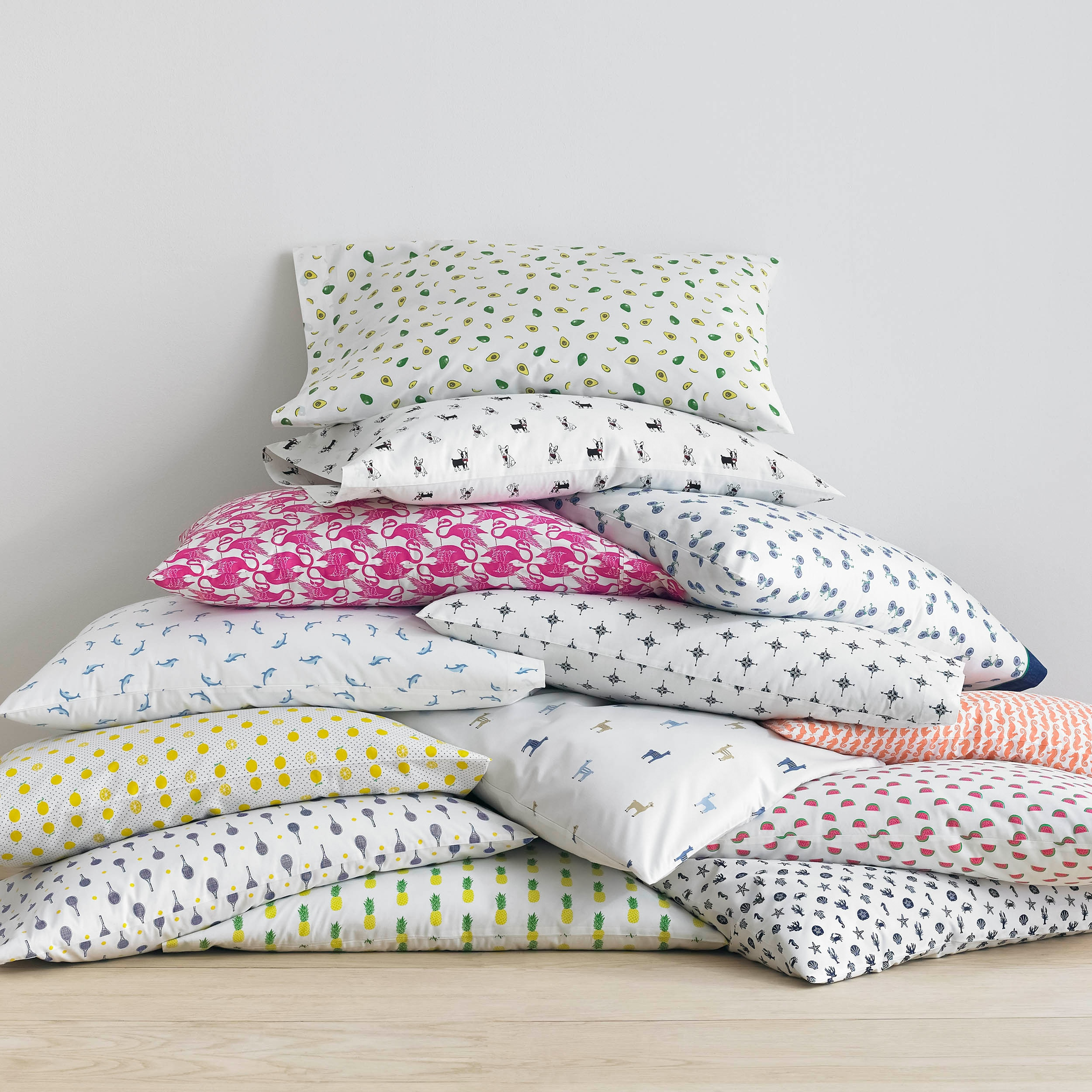 Shop Poppy U0026 Fritz Cotton Percale Printed Sheet Sets   Free Shipping On  Orders Over $45   Overstock.com   11601405