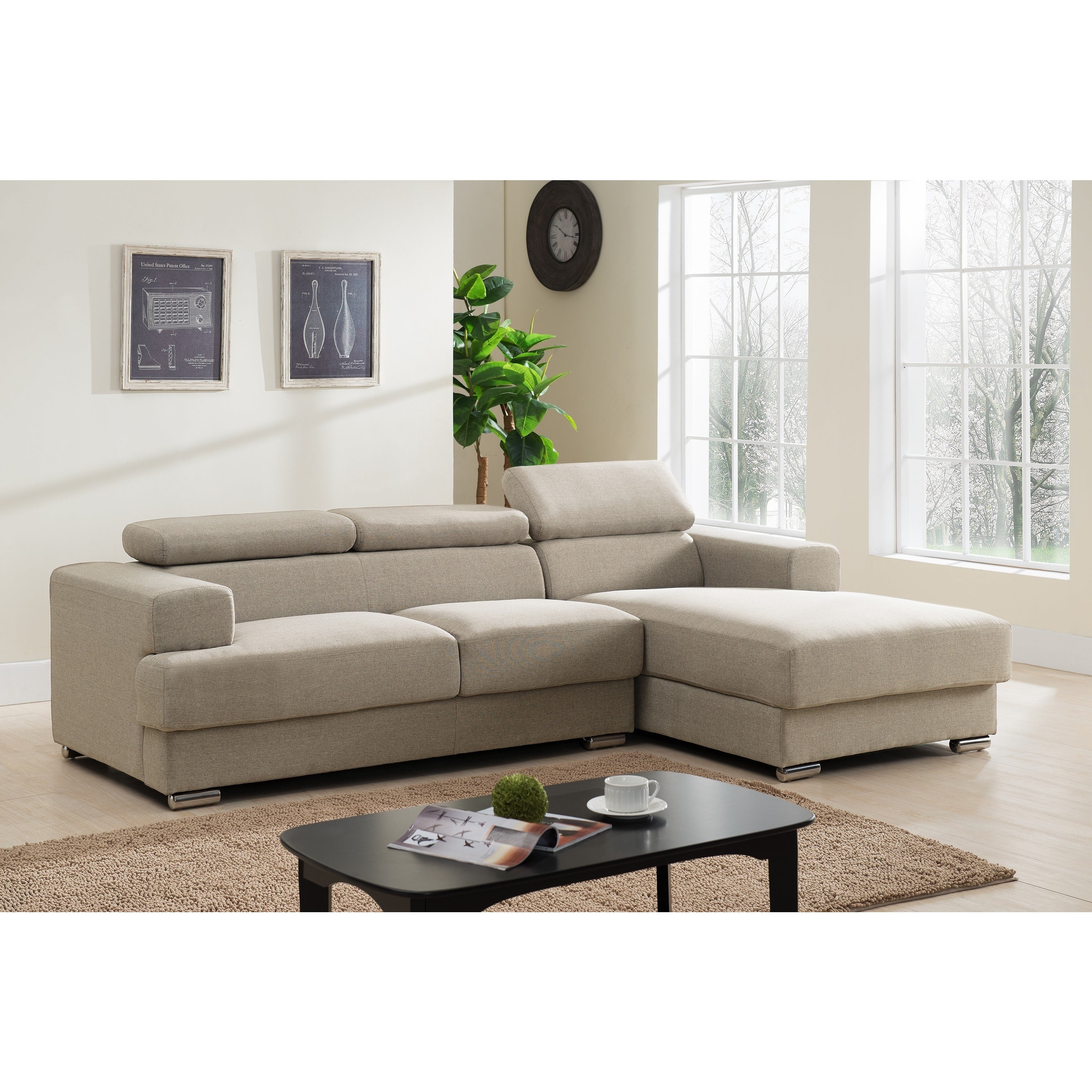 power fabric sofas casual headrests swift living with sectional reclining sofa