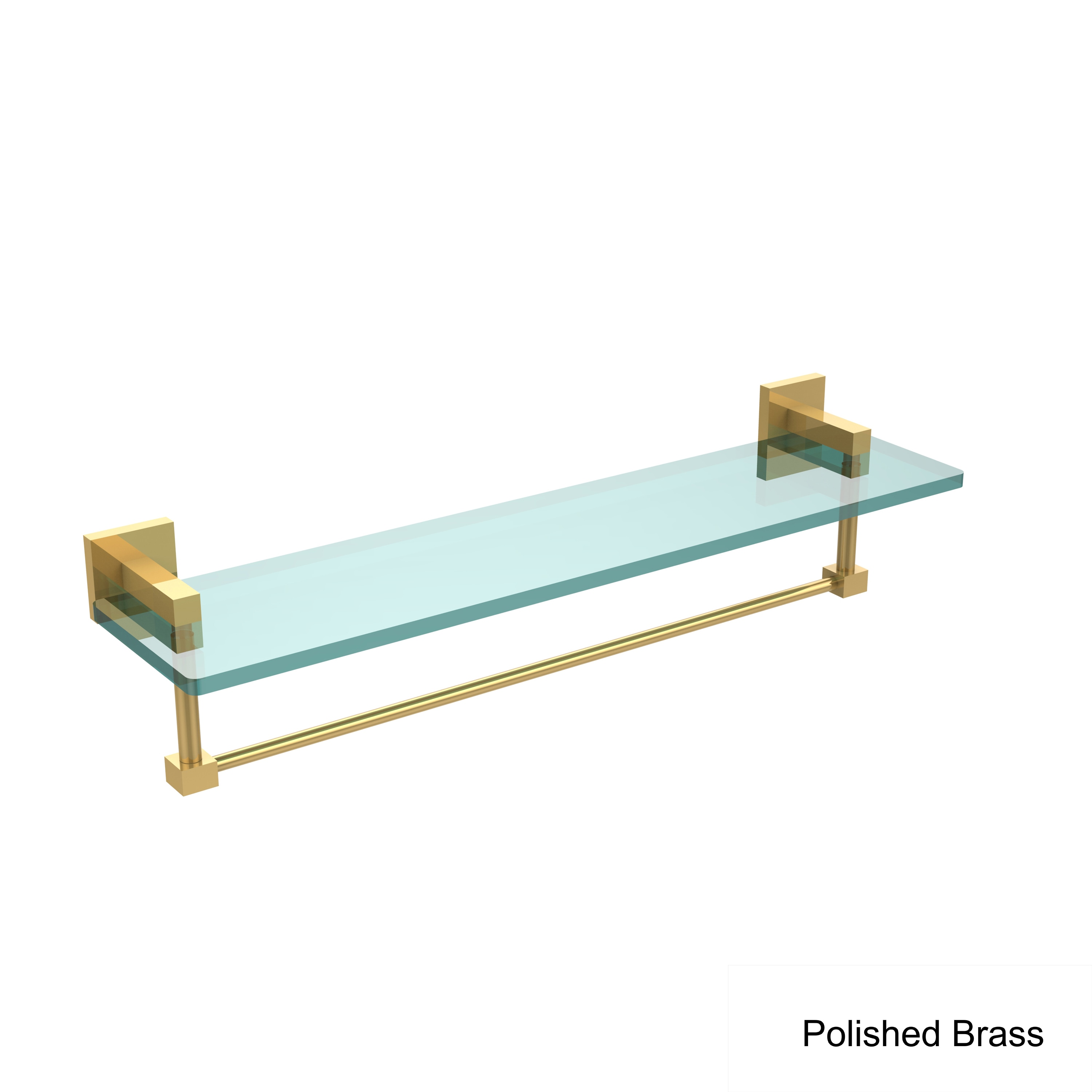 Shop Allied Brass Montero Collection 22-inch Glass Vanity Shelf with ...