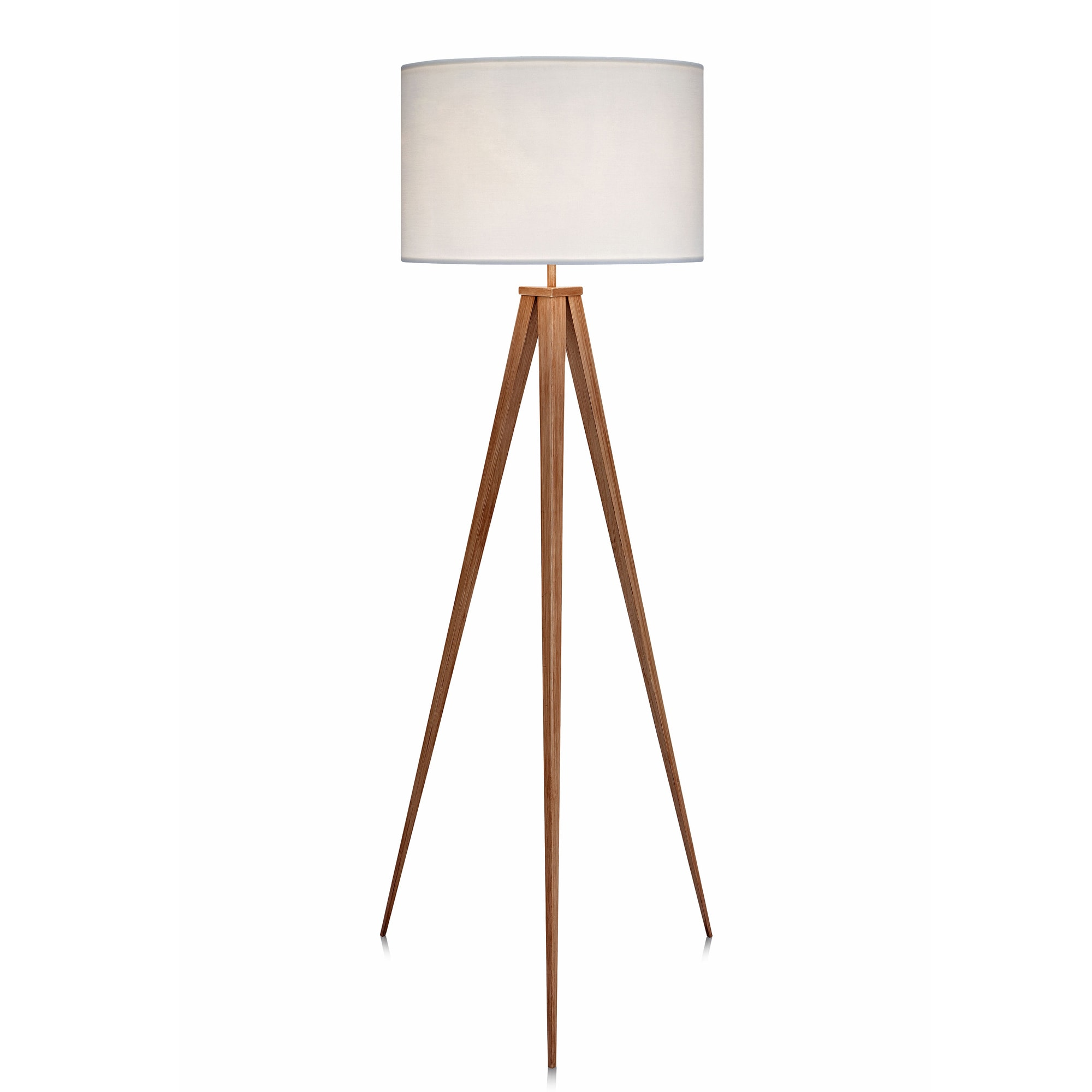 tripod vintage lamp wooden the lamps surveyor six kim wood fix floor