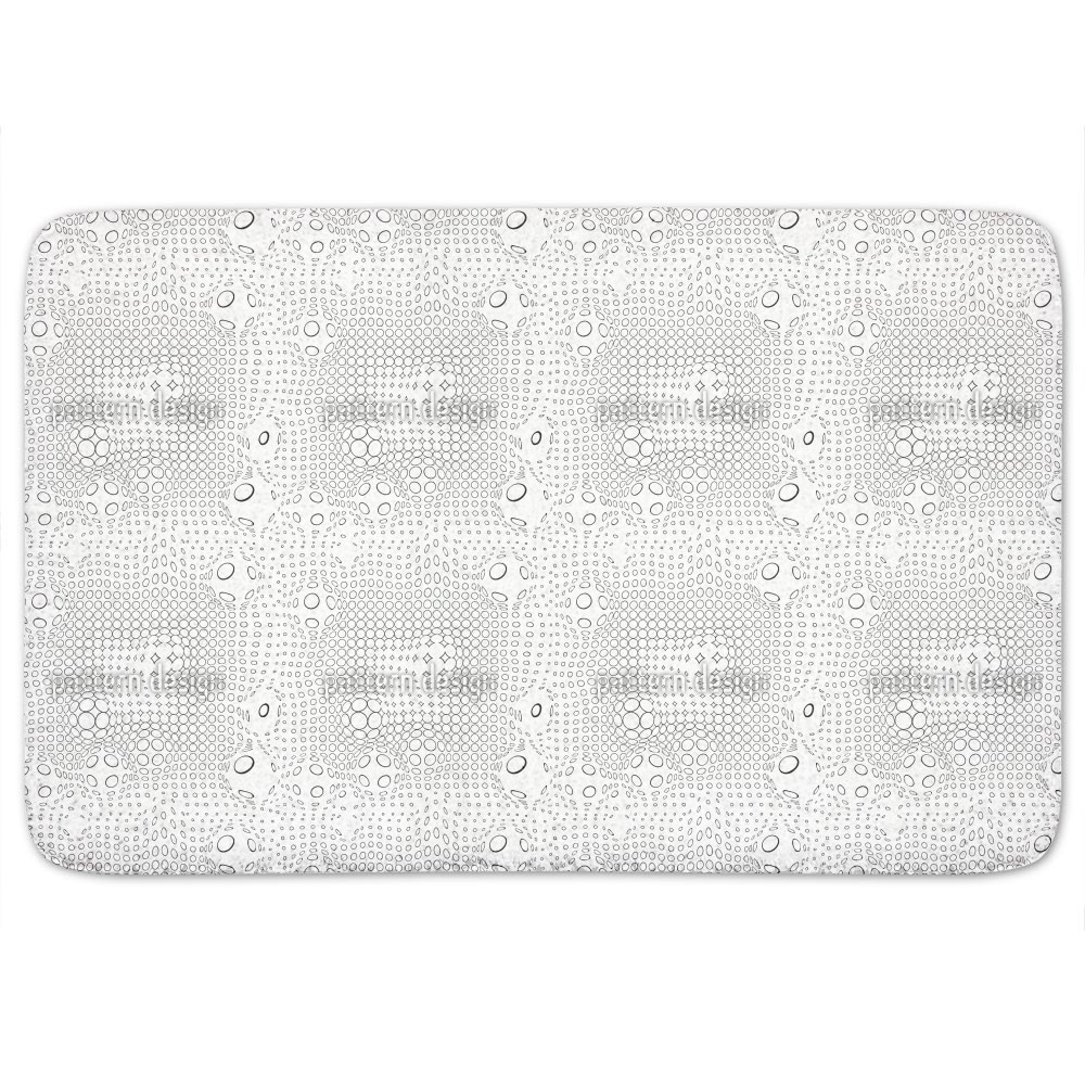 Shop Network Circles Bath Mat Free Shipping Orders Over $45 Overstock