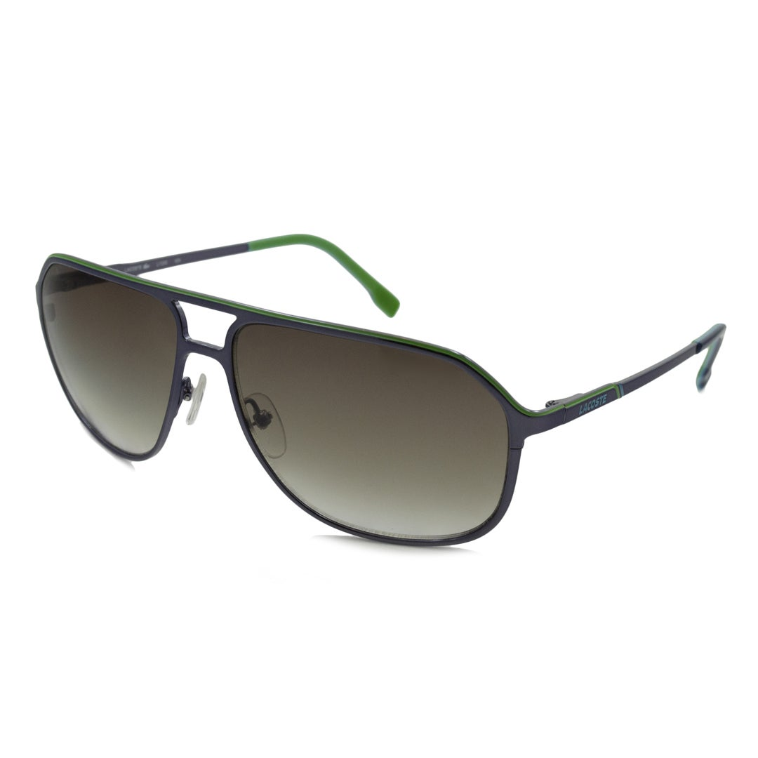 4cb84bec66f Shop Lacoste Men s L139S Aviator Sunglasses - Free Shipping Today ...