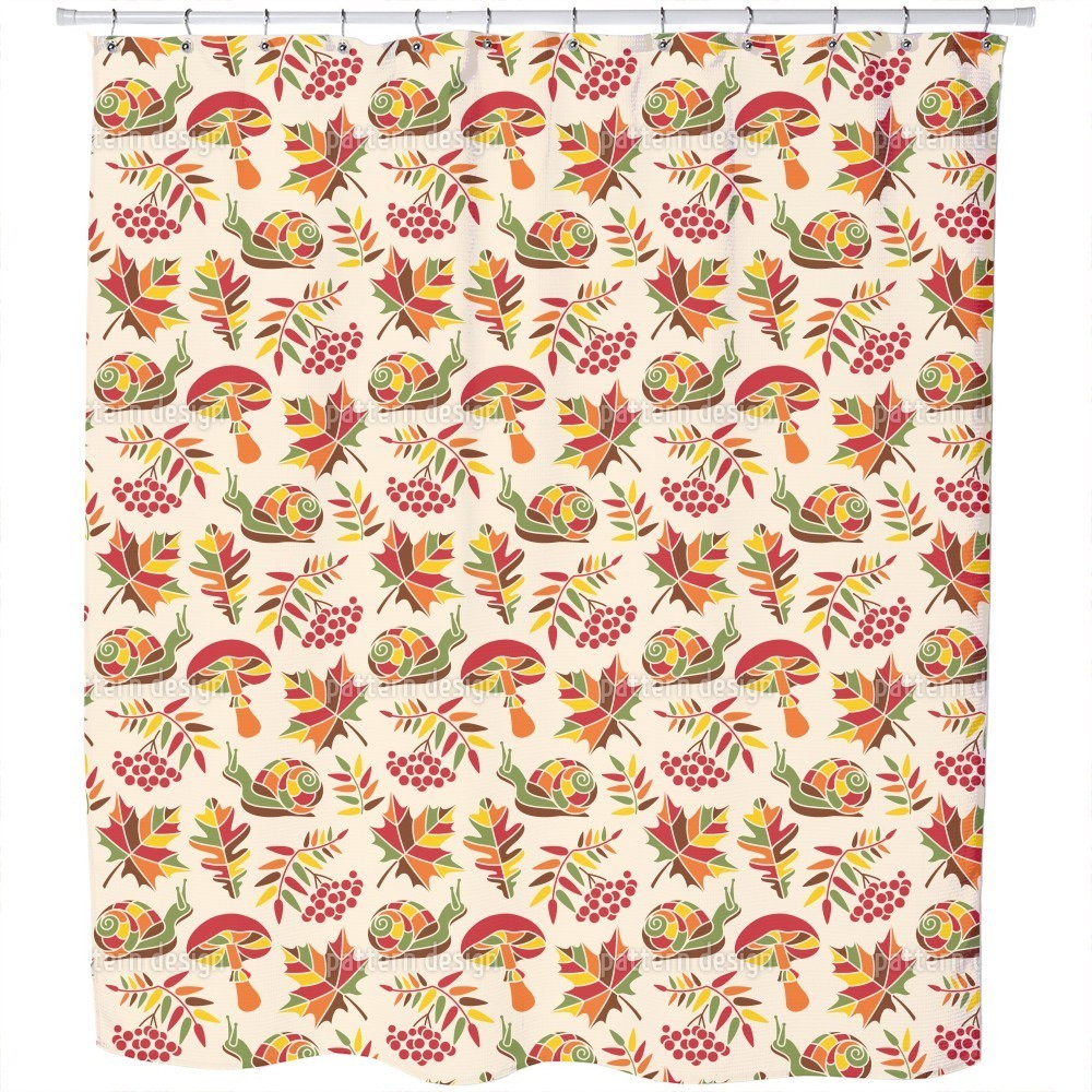 Shop The Snail and The Autumn Shower Curtain - Free Shipping Today ...
