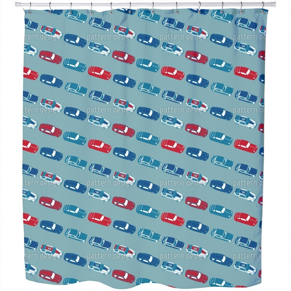Shop Matchbox Cars Shower Curtain - Free Shipping Today - Overstock ...