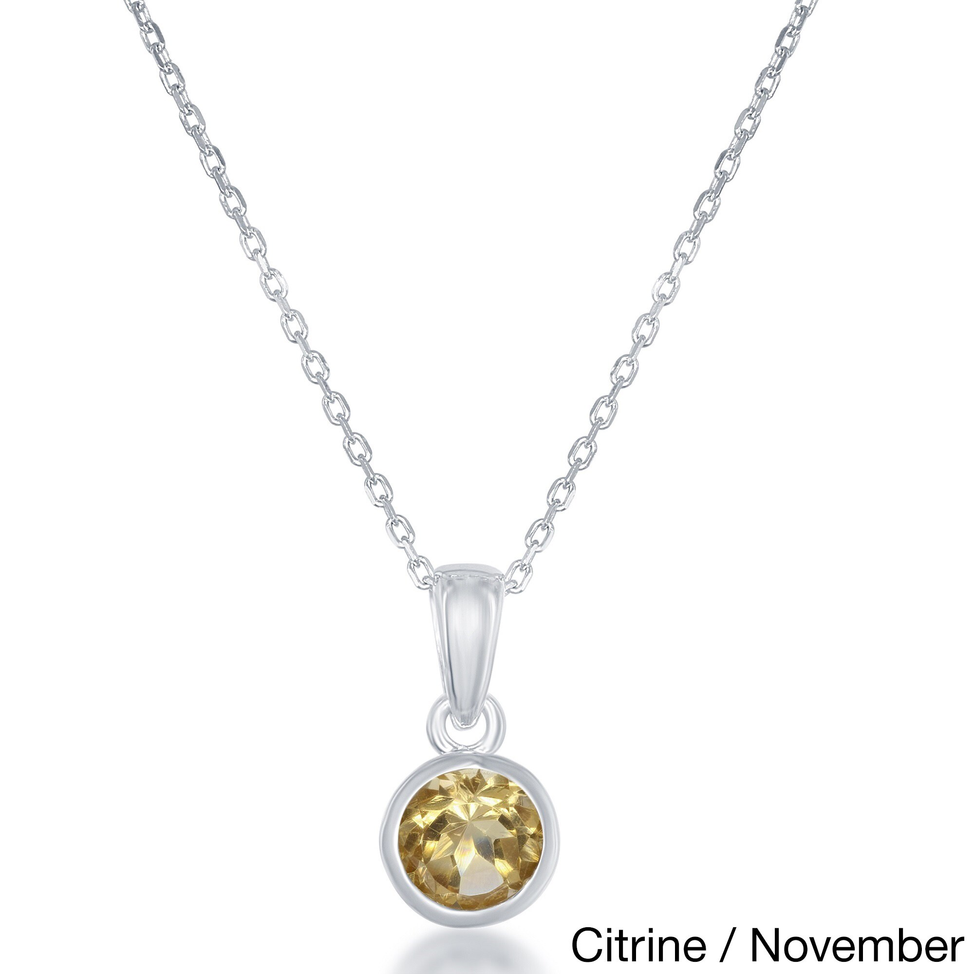 pendant gold ja aces bezel products jewels solitaire necklace