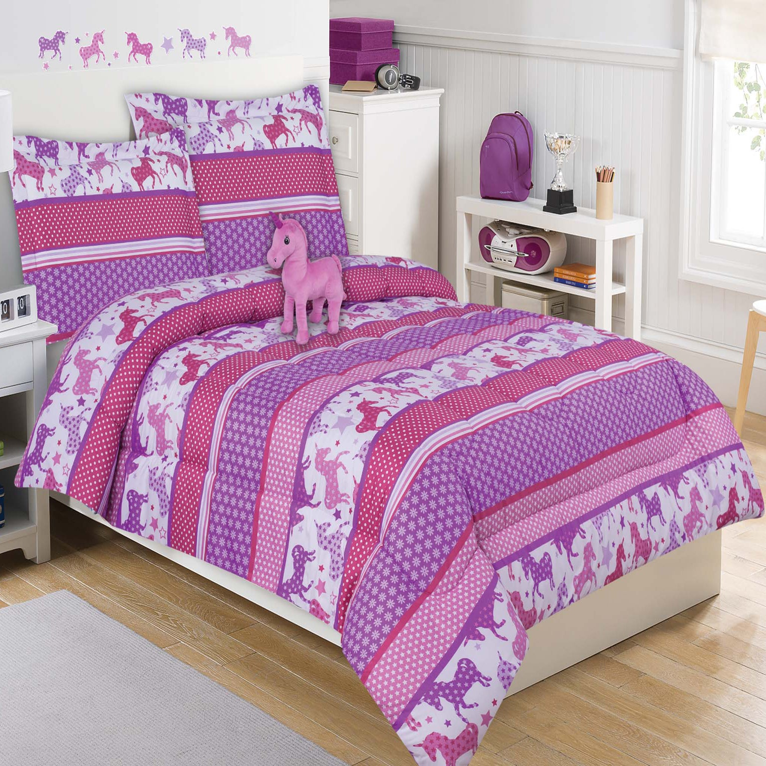 within your bed walmart sets sheet exquisite bedroom for girls unicorn idea twin bedding residence