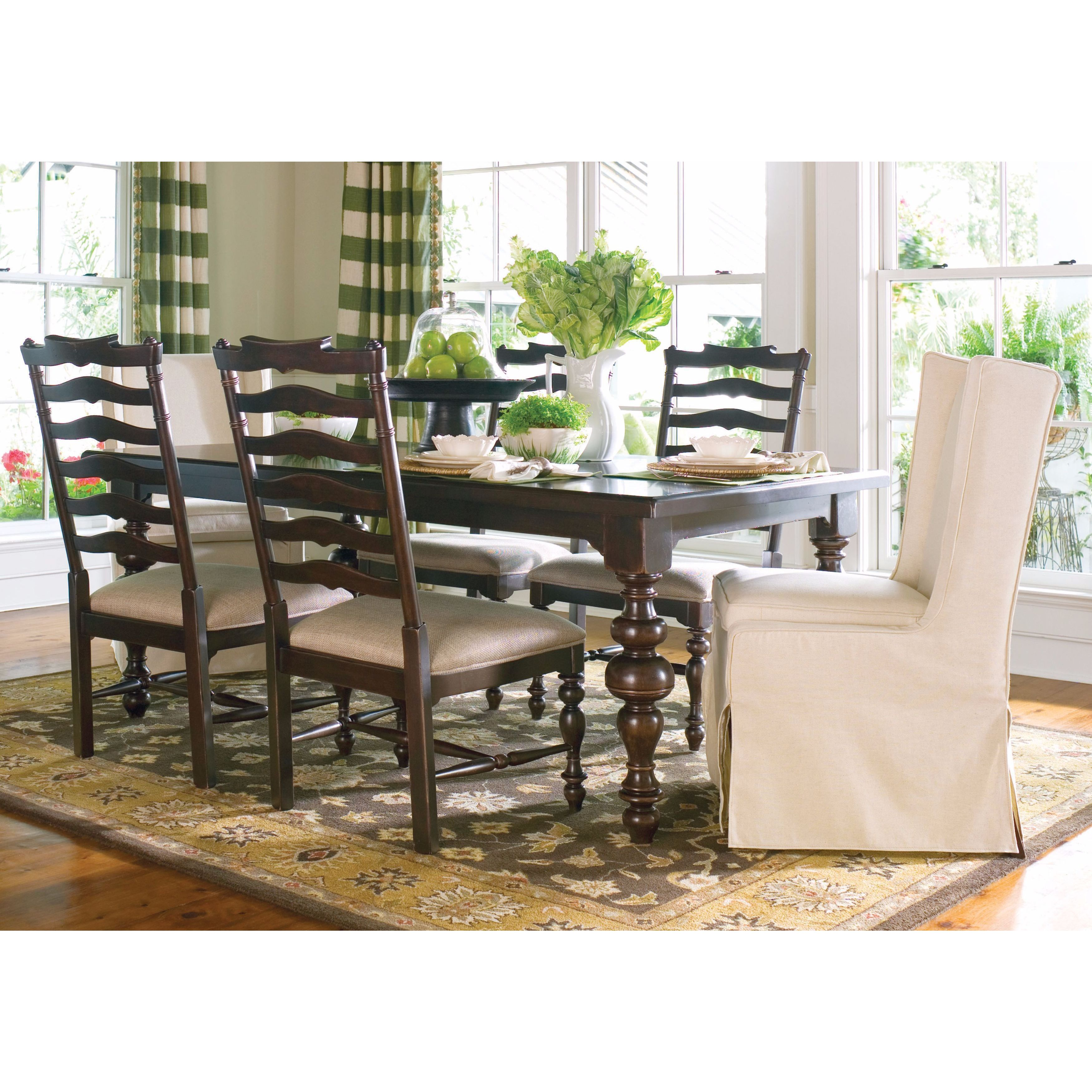 Image of: Shop Black Friday Deals On Paula Deen Home Paula S Table In Tobacco Finish Overstock 11623565