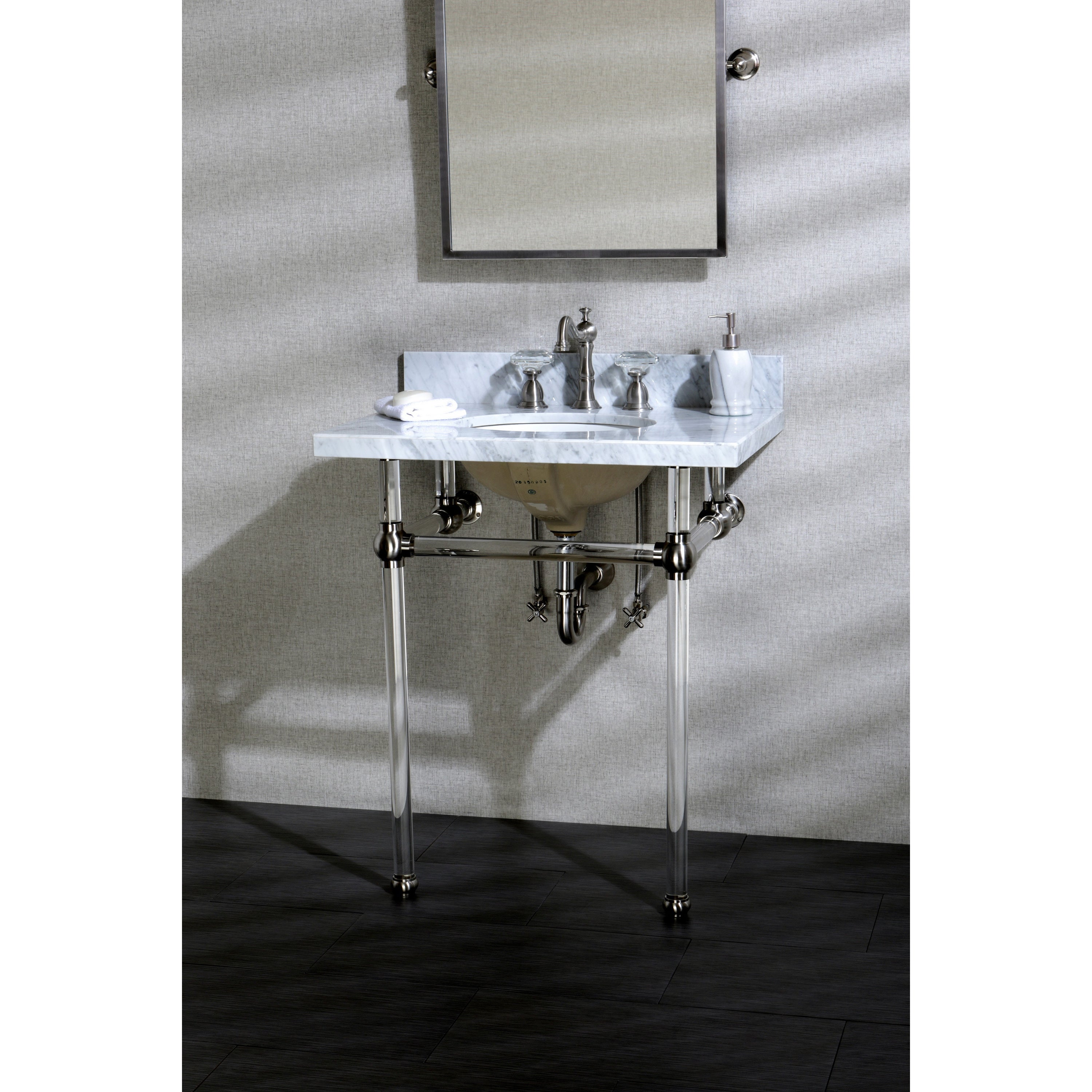 Vintage Console Bathroom Sinks By Cheviot Throughout Sink Plans 11