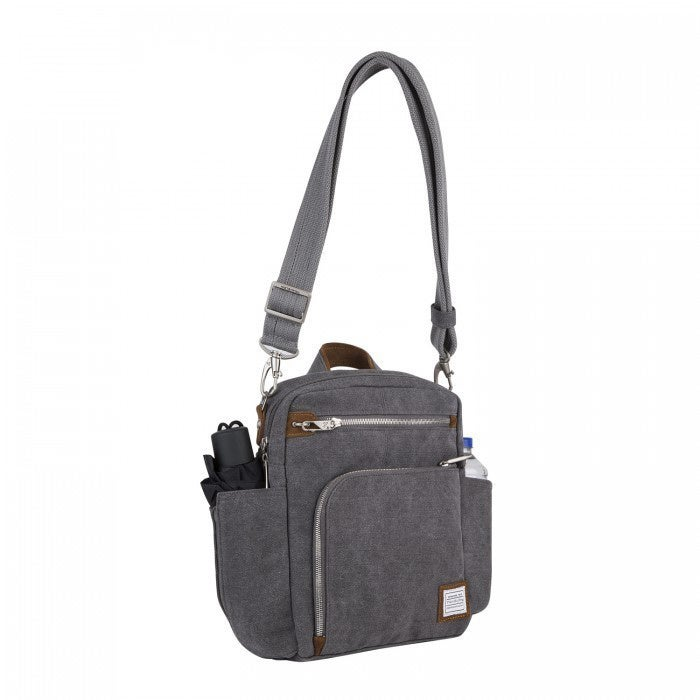 Travelon Heritage Anti Theft Tour Vertical Crossbody Messenger Bag Free Shipping Today 11624853
