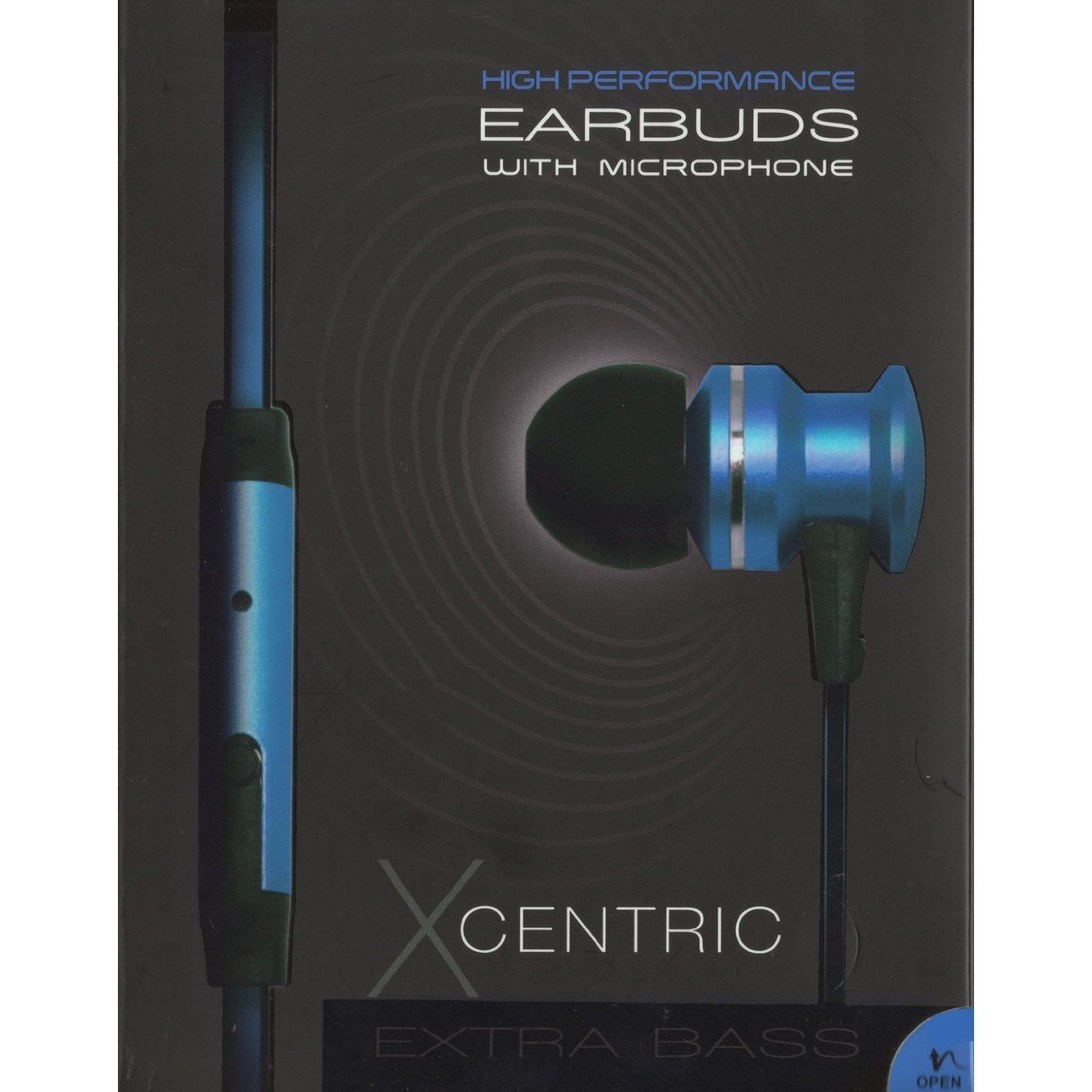 b58a5a4f3ec623 Shop Mental Beats Xcentric Earbuds with Metal Mic Includes Tangle Free  Flatwire Cord - Free Shipping On Orders Over $45 - Overstock - 11628406