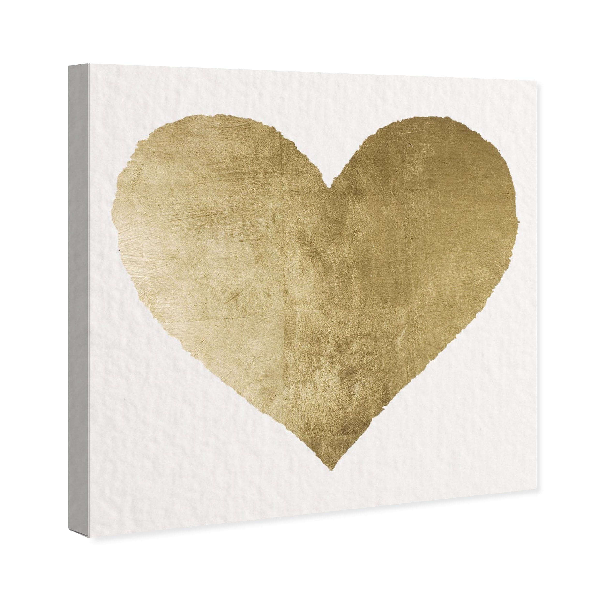 Shop Oliver Gal \'Forever and Ever\' Canvas Art - GOLD - On Sale ...