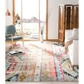 Safavieh Monaco Vintage Bohemian Multicolored Distressed Rug (6' 7 Square)