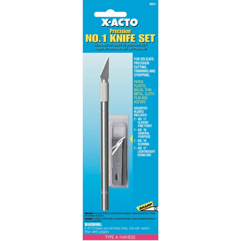Shop X Acto X5211 No. 1 Precision Knife & Blade Assortment - Free ...