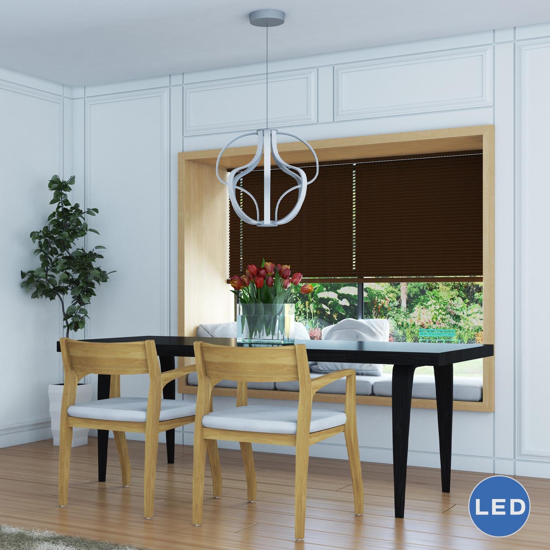 Vonn Lighting Capella 21-inches LED Adjustable Hanging Light Modern ...