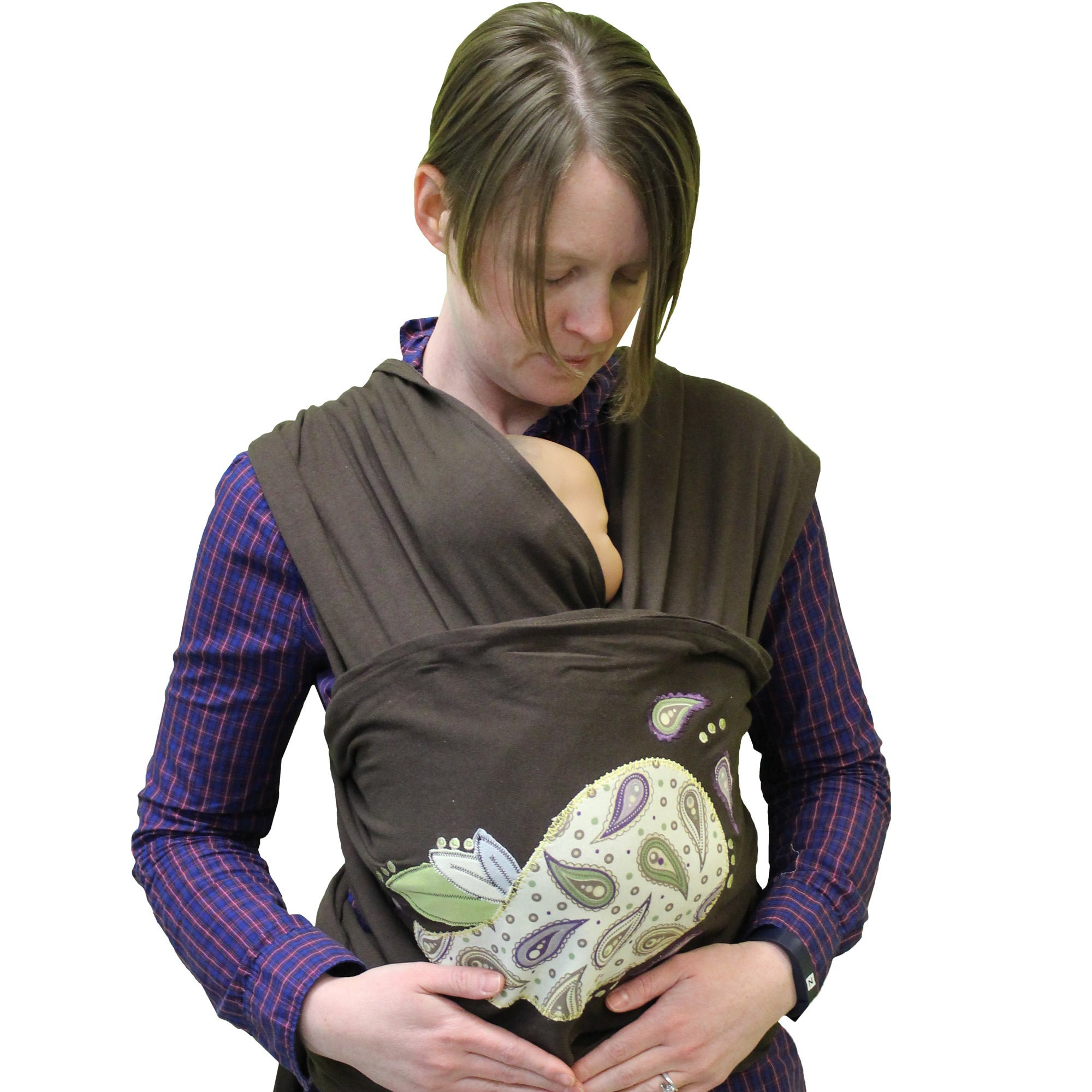 Shop The Peanut Shell Devon Wrap Carrier Free Shipping Today