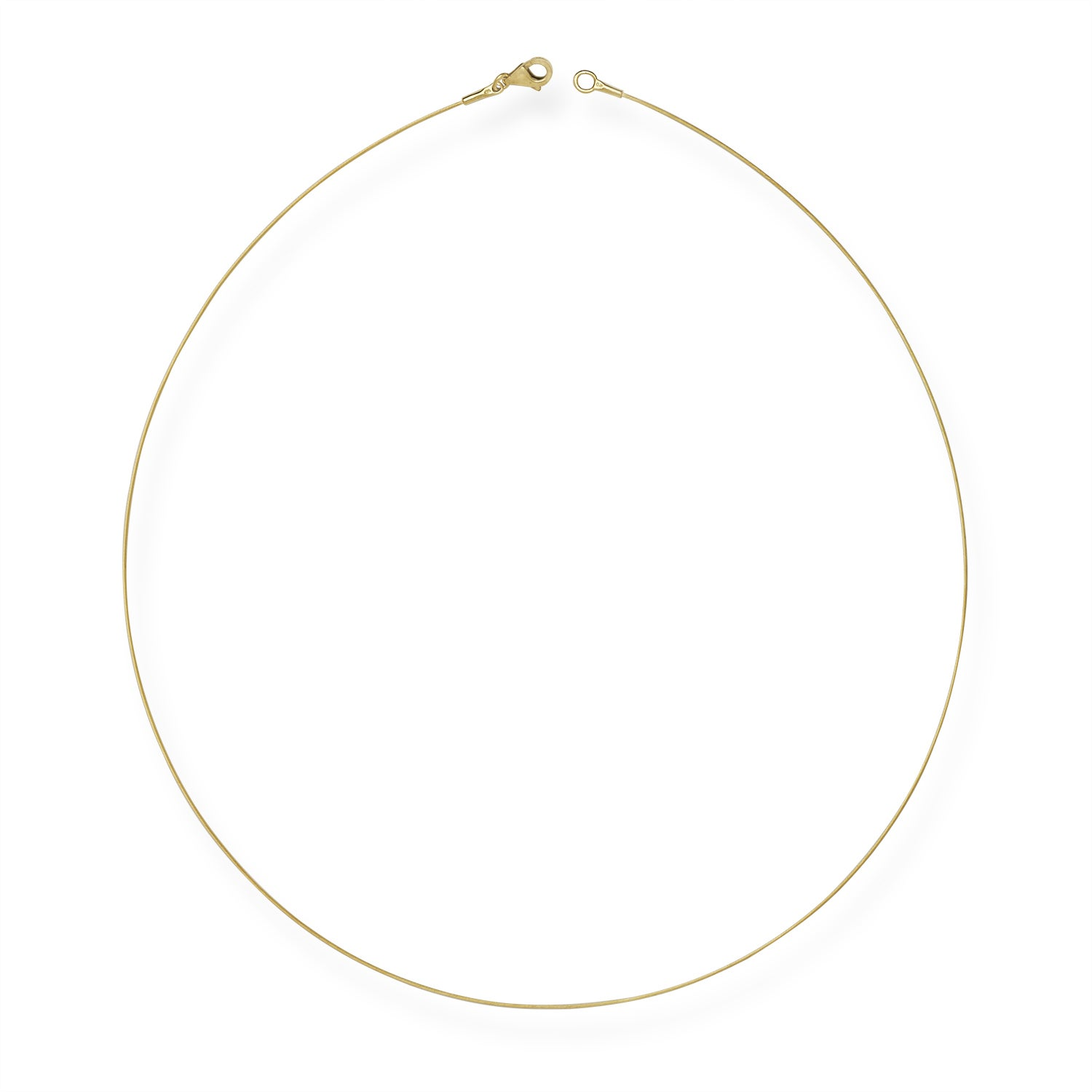 Shop 14k Yellow Gold 0.5mm Twist Cable Wire Chain Necklace (16\
