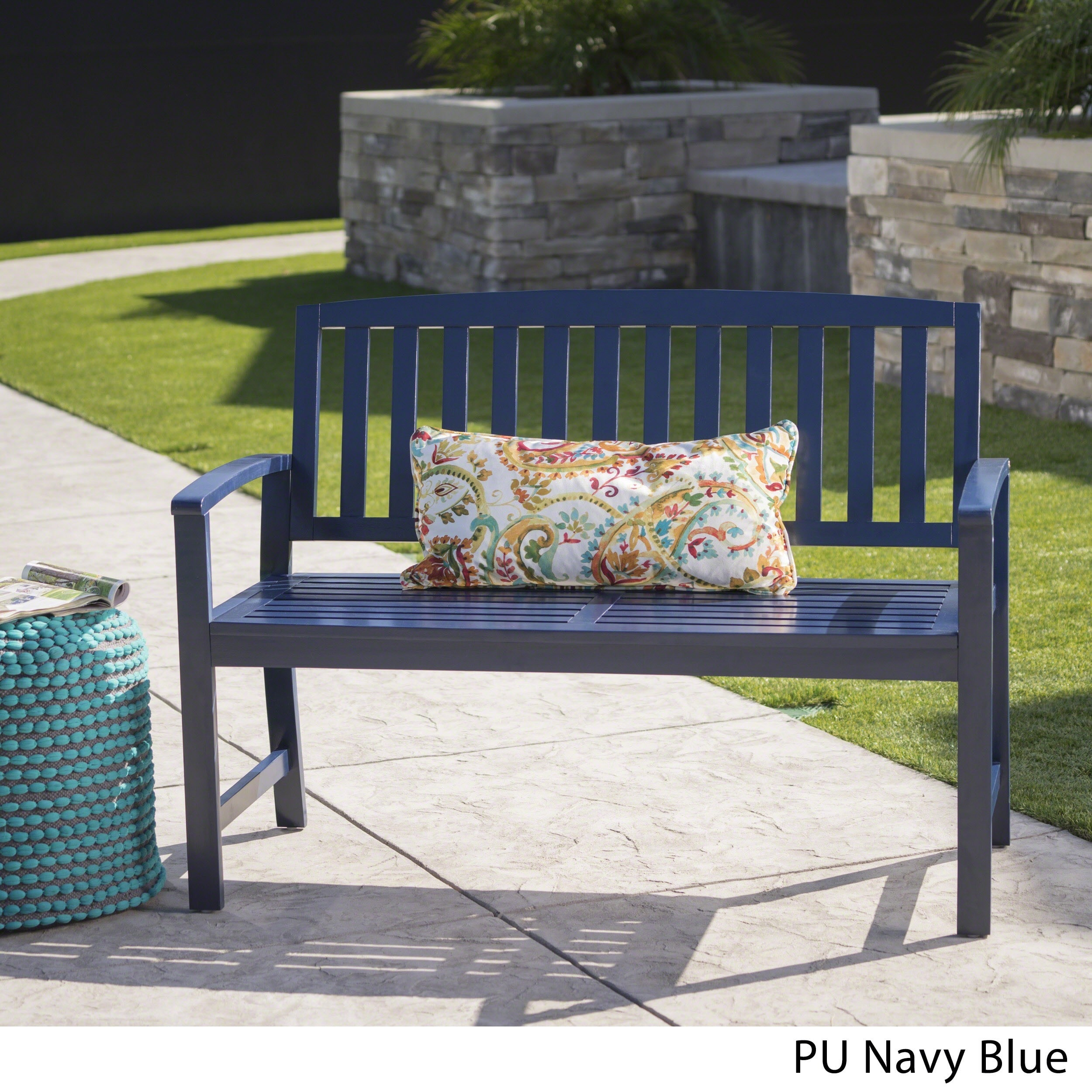 high dining regency rylie blue designer eclectic kathy benches home back navy product kuo bench productlist