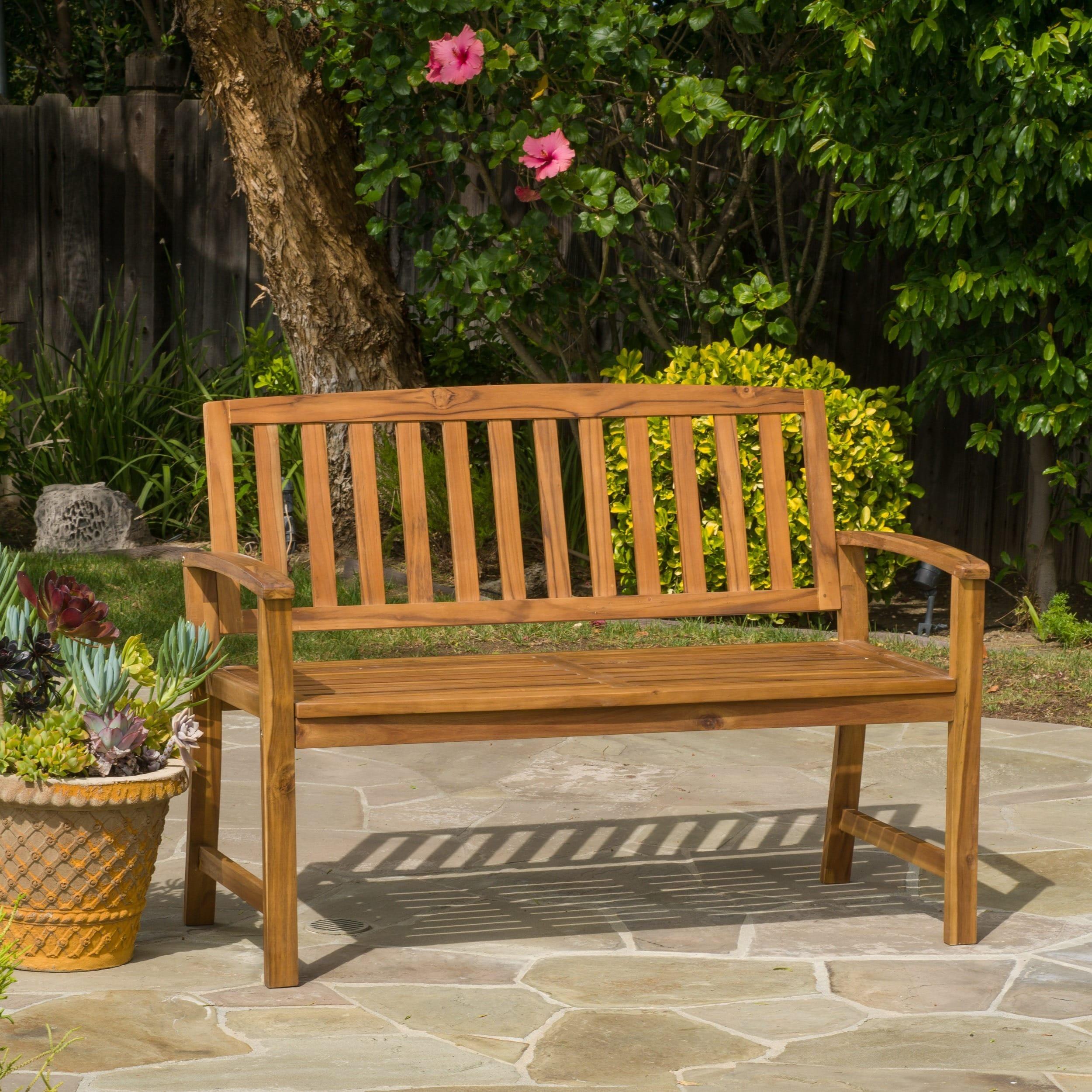 hayneedle x patio bench standard in blazing outdoor needles cushion product master cfm