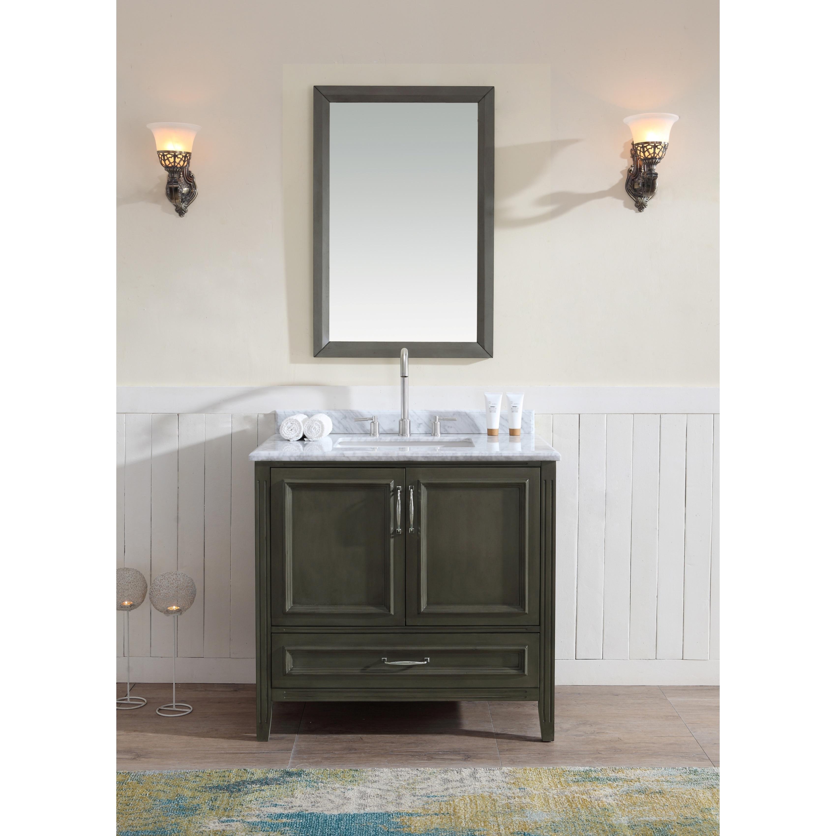 Ari Kitchen and Bath Jude 36-inch Single Bathroom Vanity - Free ...