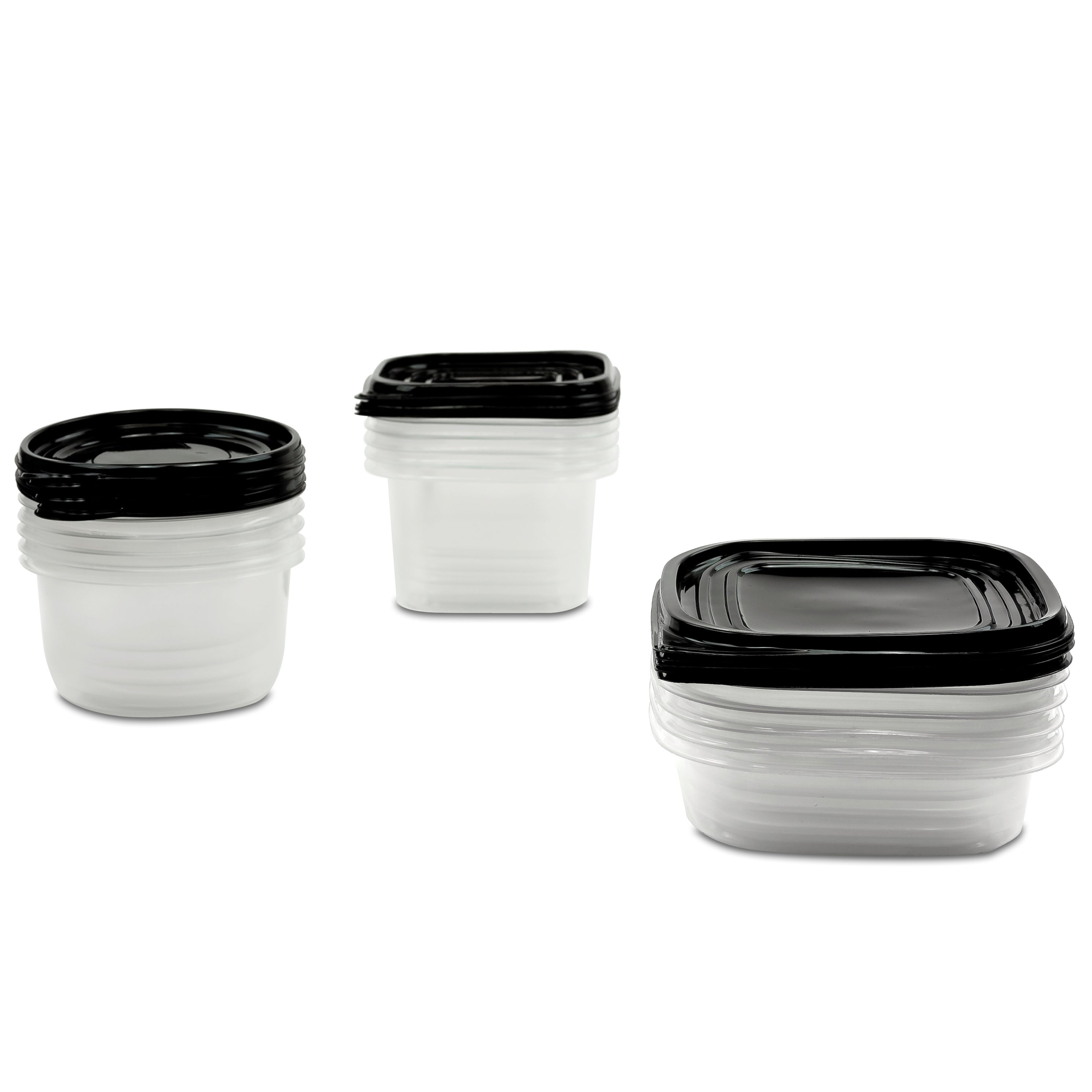 Shop 30 Pc Reusable Plastic Food Storage Containers Set with Air