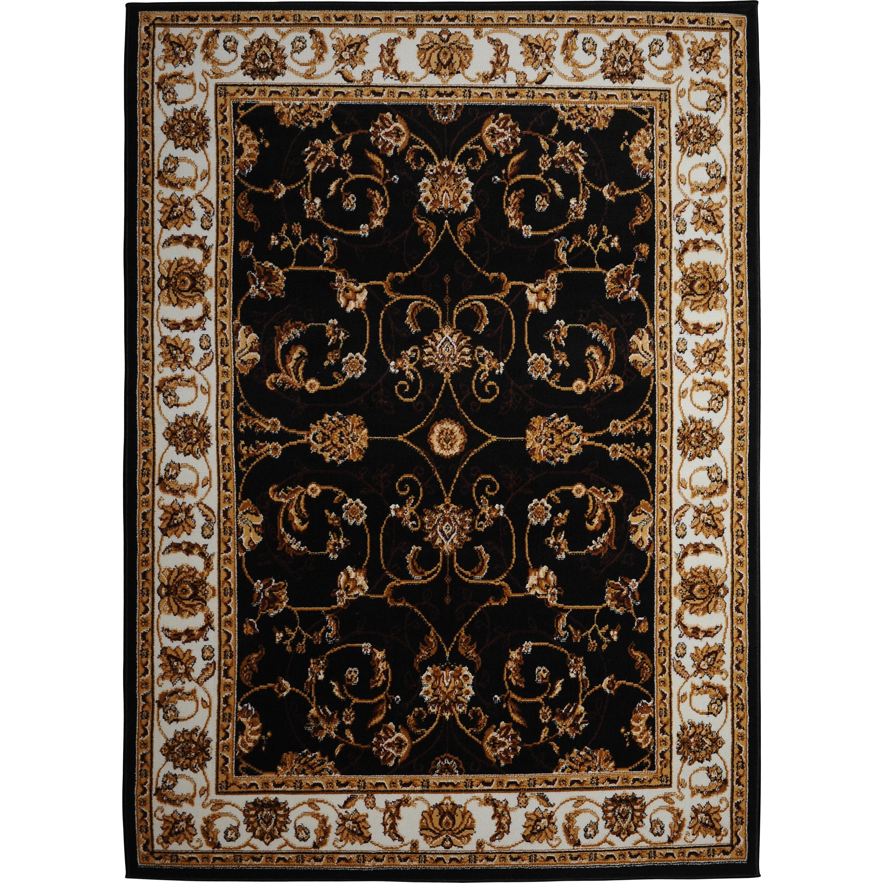 home dynamix premium collection traditional area rug (7'8 x 10'7