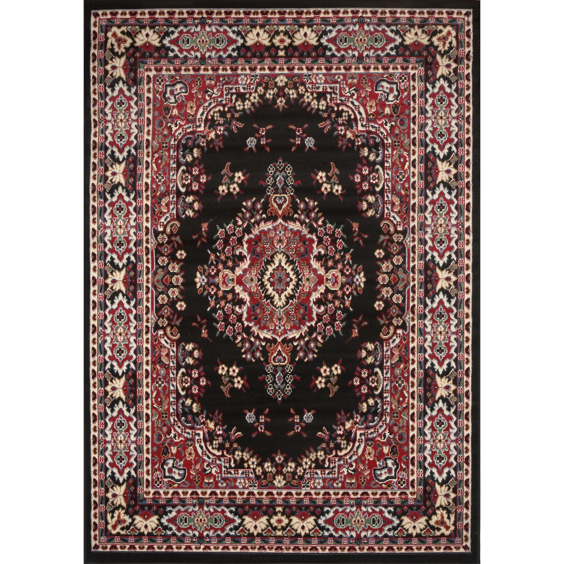 home dynamix premium collection traditional area rug (5'2 x 7'4