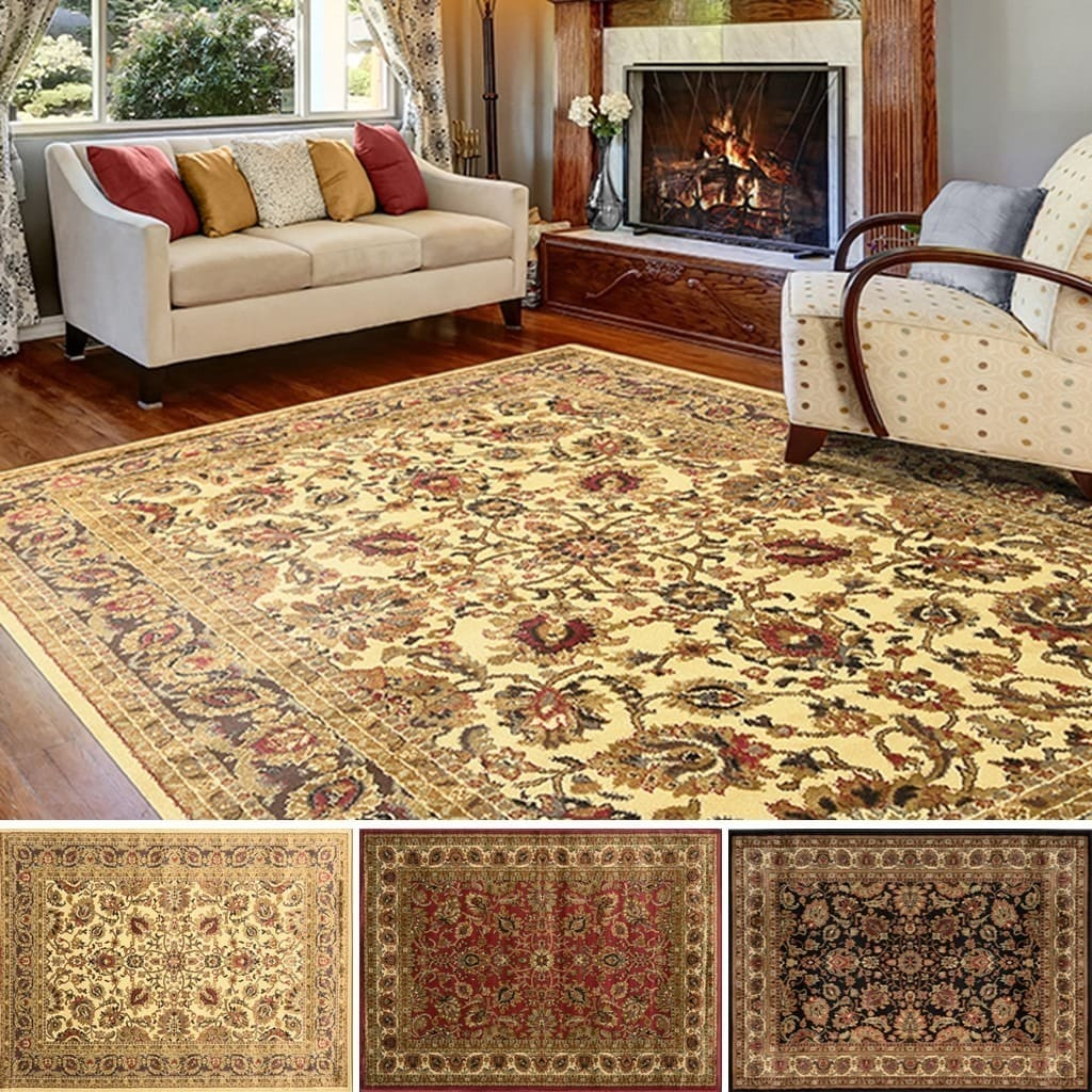 Home Dynamix Royalty Collection Traditional Area Rug 5 2 X7 X 7
