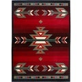 "Home Dynamix Premium Collection Black (21"" X 35"") Machine Made Polypropylene Accent Rug"